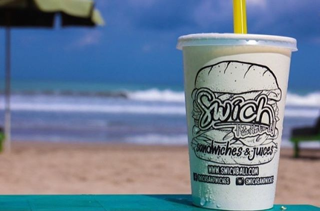 Bali hot hot hot!! Fresh up with a juice and swim in the ocean 🔥☀️🍍🍉 #Swich #Fresh #Healthy #SwichBali #Sandwiches #Juices #Salad #WarungSandwich #Legian #DoubleSix #Seminyak #Brawa www.swichbali.com