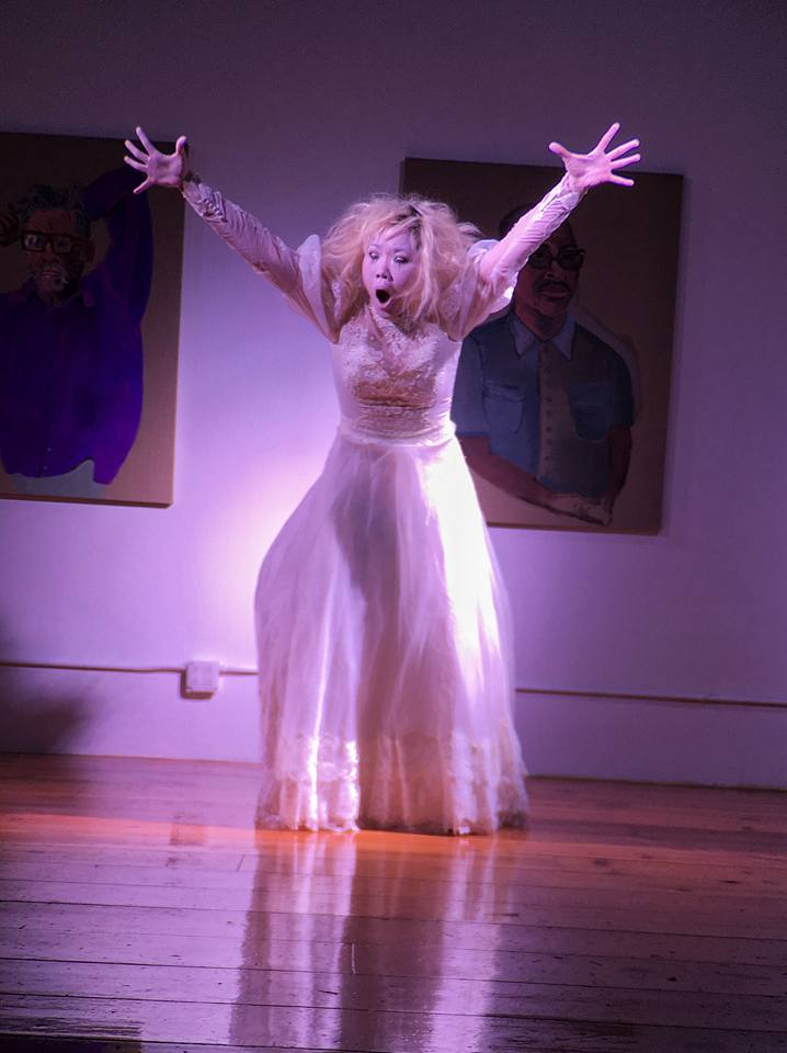 Mee Ae Caughey at Queer Butoh - Vangeline Theater and New York Butoh Institute - Howl Arts