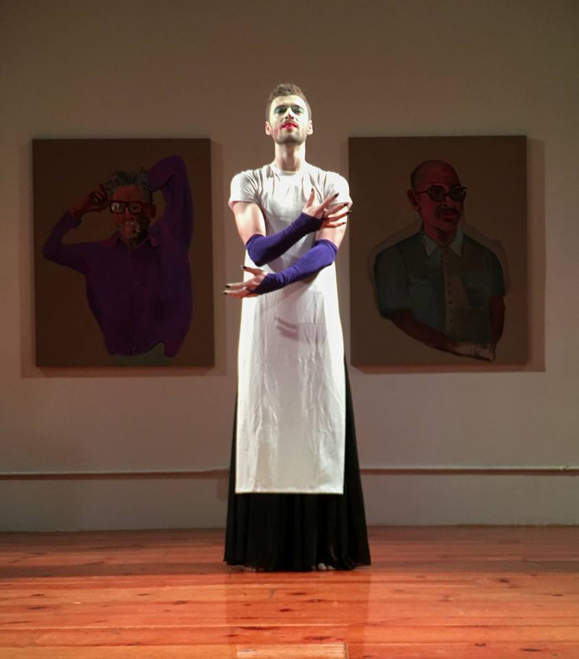 Will Atkins in Queer Butoh 2016