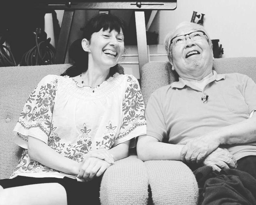 Interview with Eikoh Hosoe /Vangeline - Photo Azumi Oe. August 11, 2017.