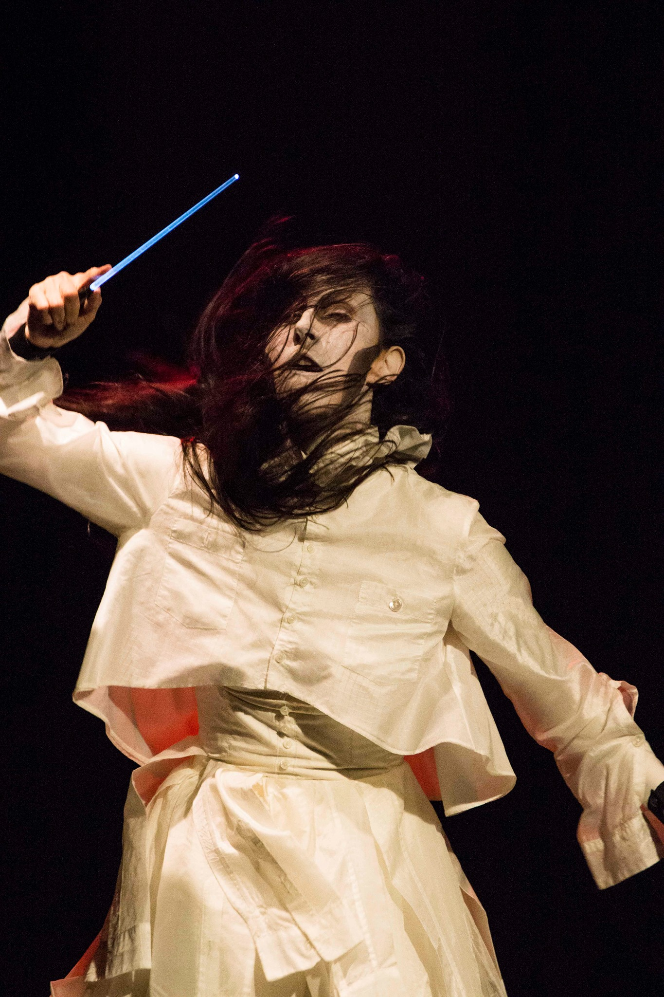 Vangeline in Butoh Beethoven. Photo by 曹博凱 at Taiwan Darkness Festival