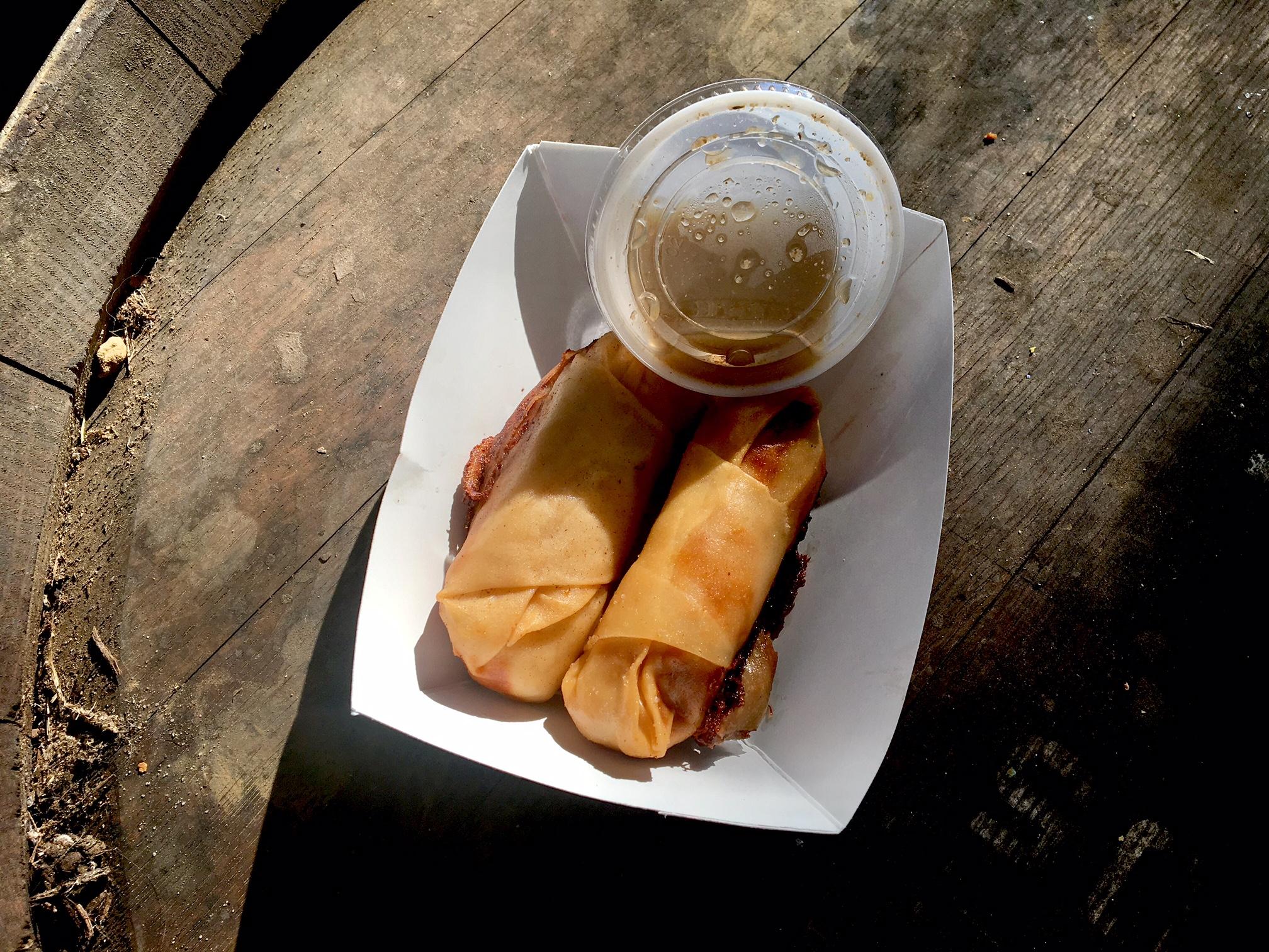 Fried Cuban Roll