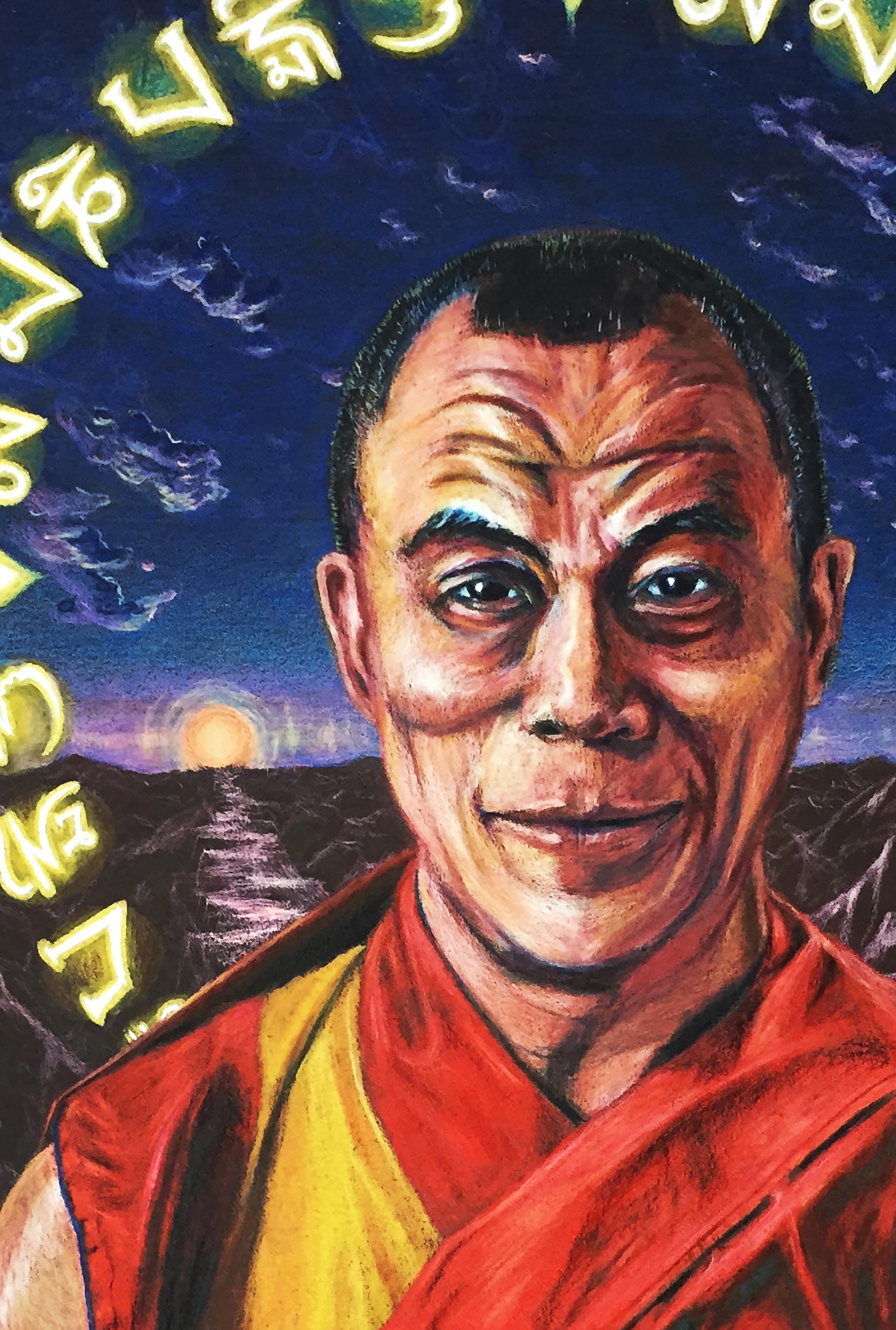 H. H. The Dalai Lama (detail)