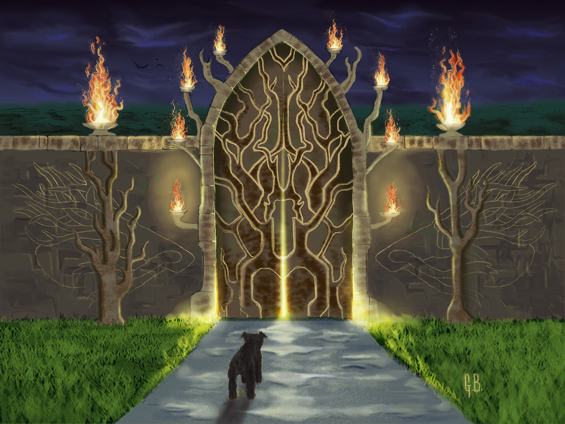 Copy of Gate to the Fire Garden