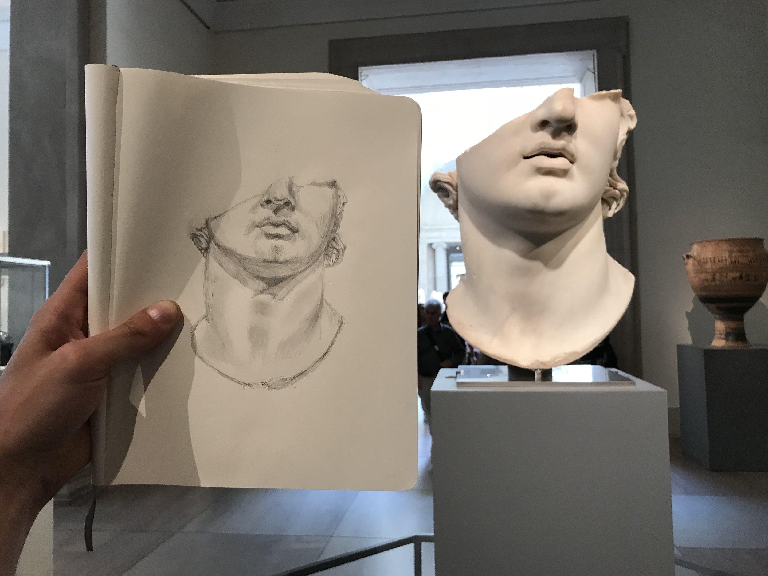 Greco-Roman Head