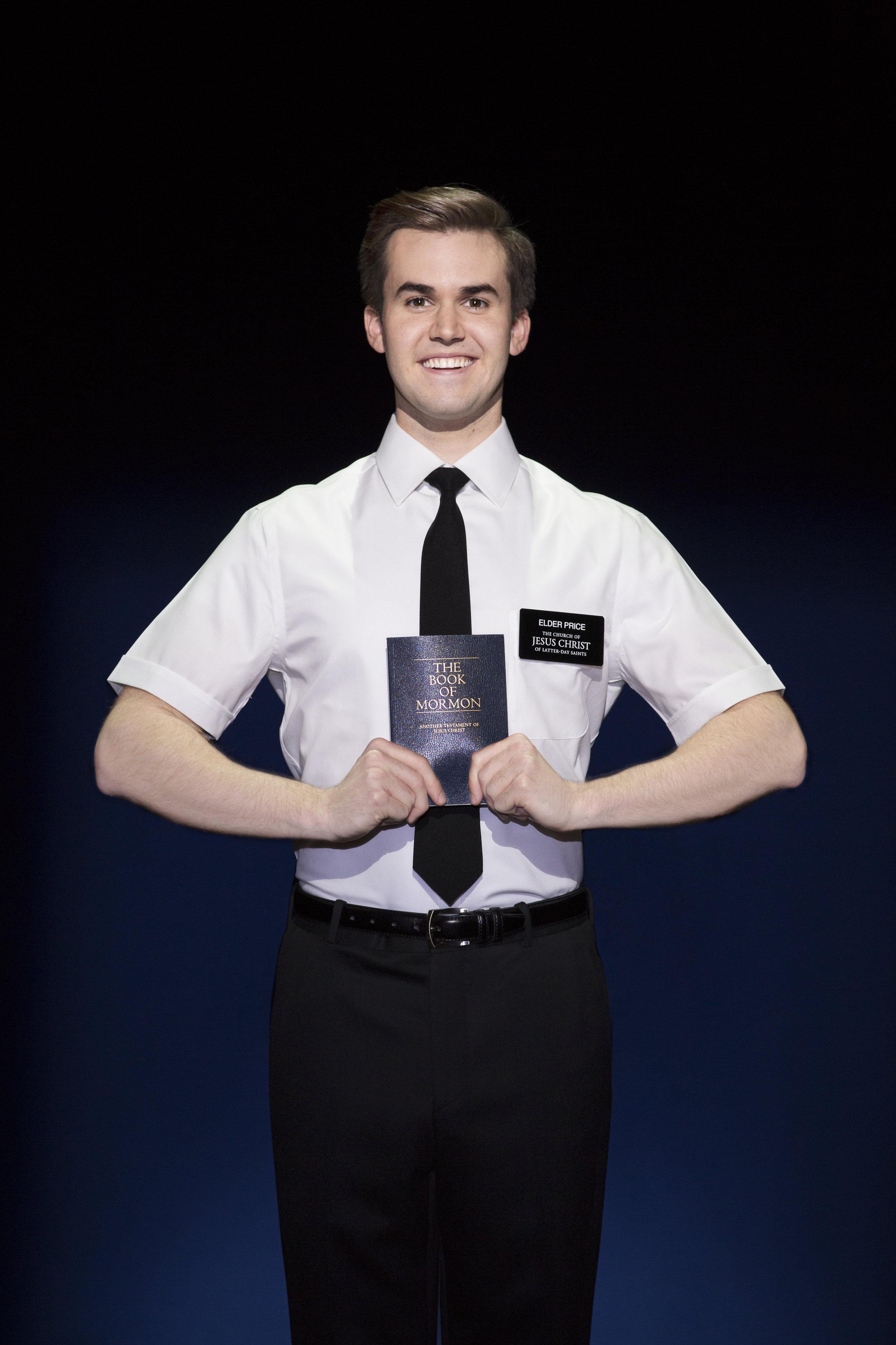 Kevin Clay - The Book of Mormon (c) Julieta Cervantes