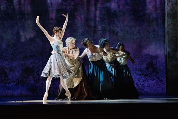 Tiler Peck as Young Marie and the company of  Marie, Dancing Still  - Photo Credit Paul Kolnik