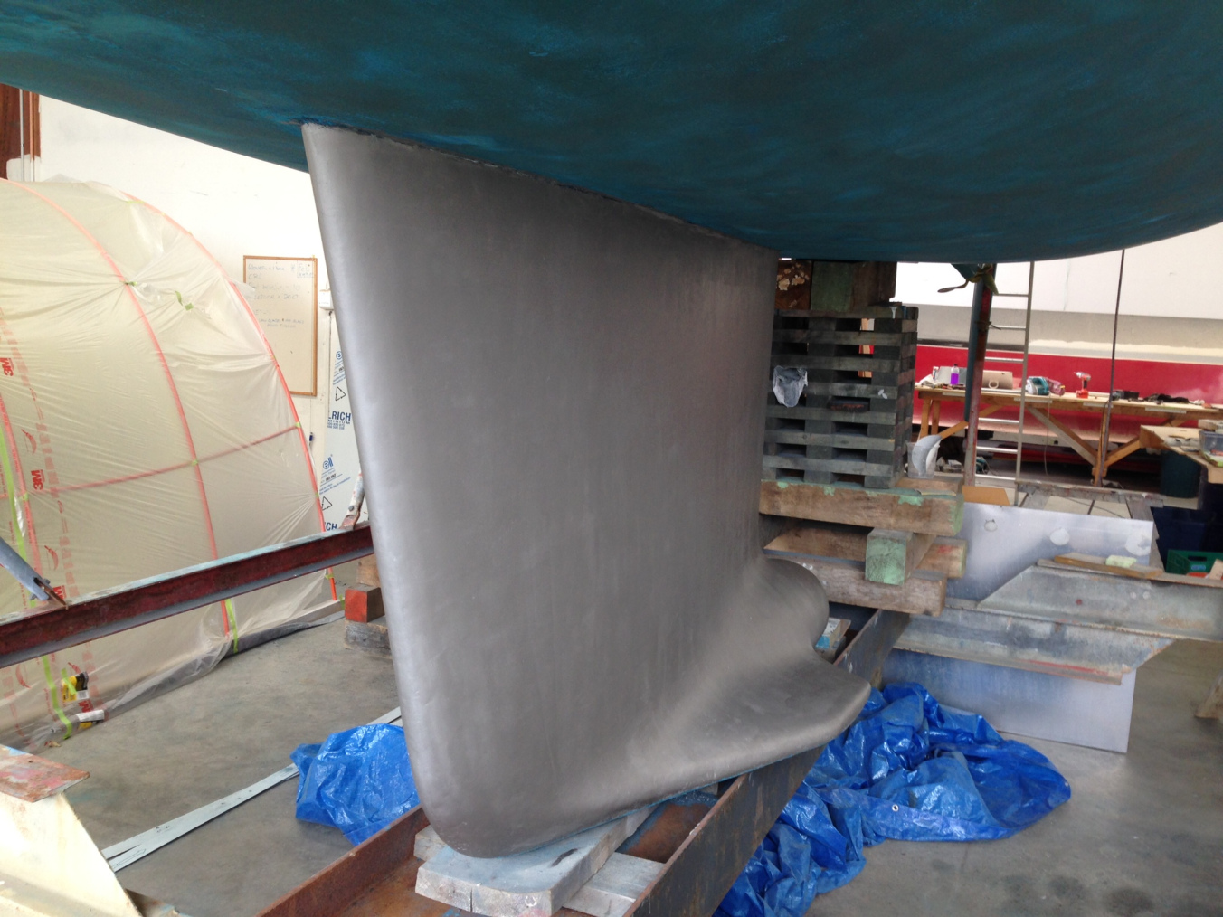 So much of our success relies on a good keel that stays attached to the hull