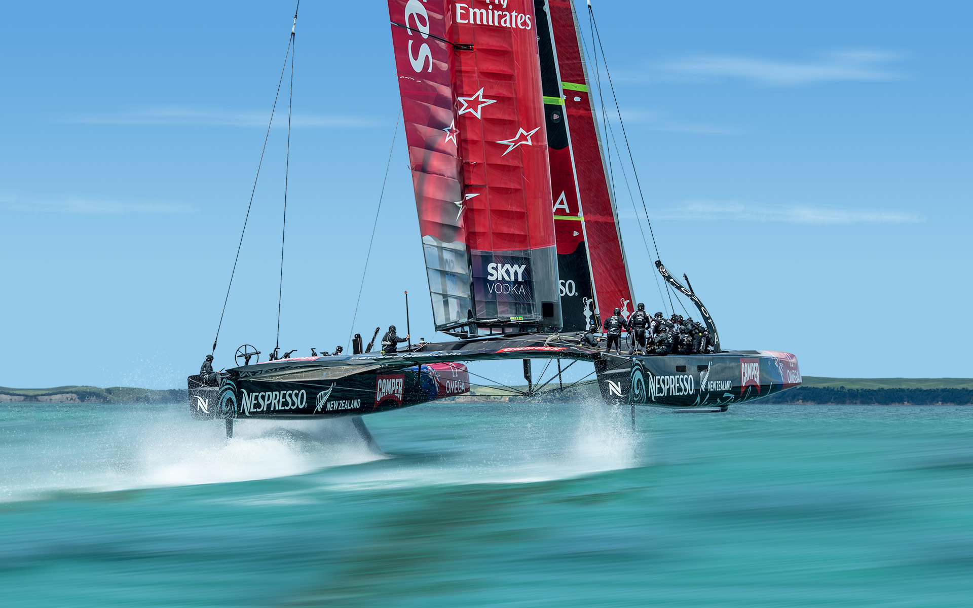 Emirates Team New Zealand 8-1 up, yet go on to lose the 2013 Americas Cup