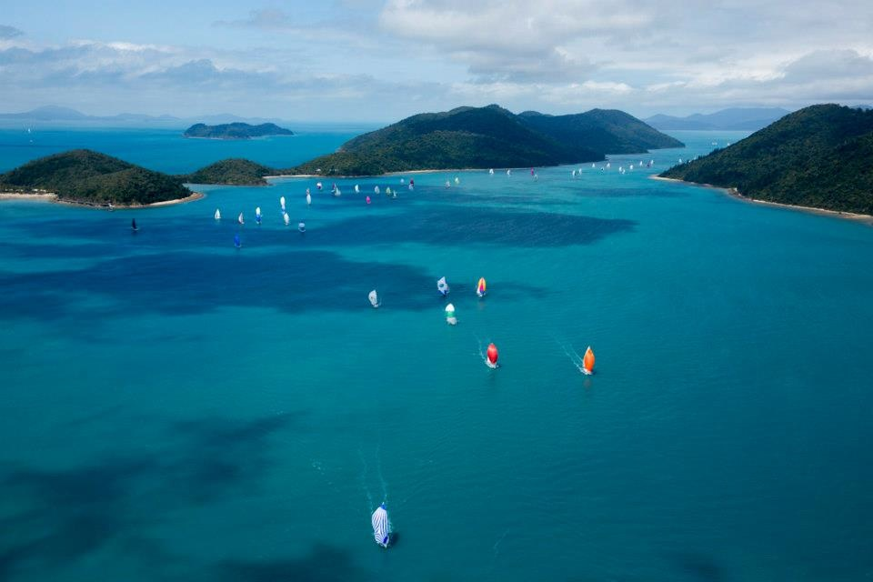 Audi Hamilton Island Race Week where 200+ yachts gather for Australia's most prestigious regatta each August