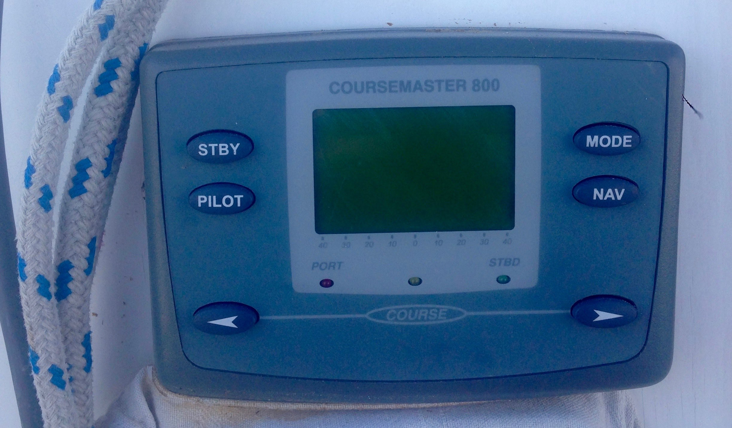The original Coursemaster 800 auto-pilot on Impulse