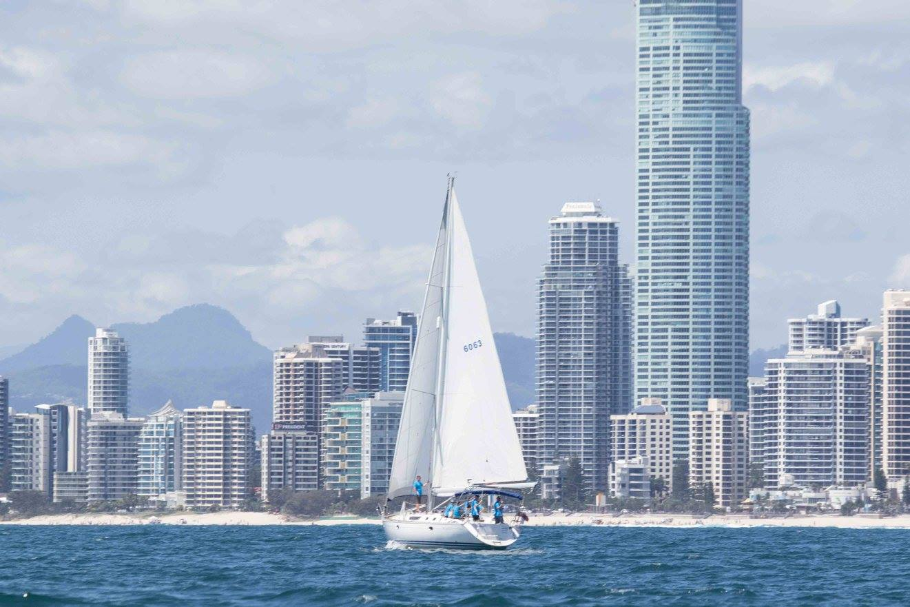 The Gold Coast, Queensland makes a great backdrop for Southport Yacht Club offshore racing