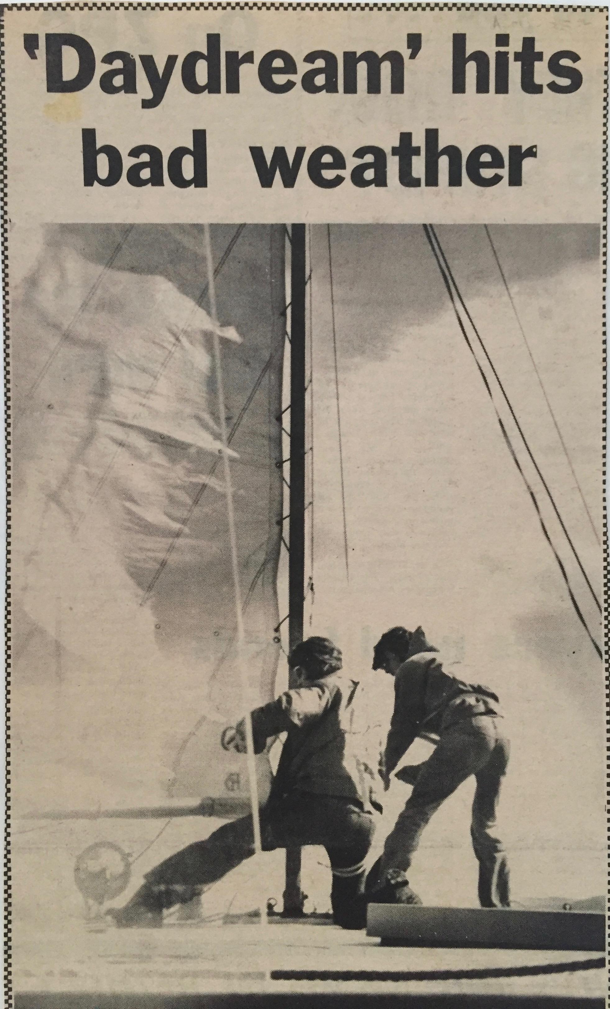 Sailing Daydream up the East Coast of Australia