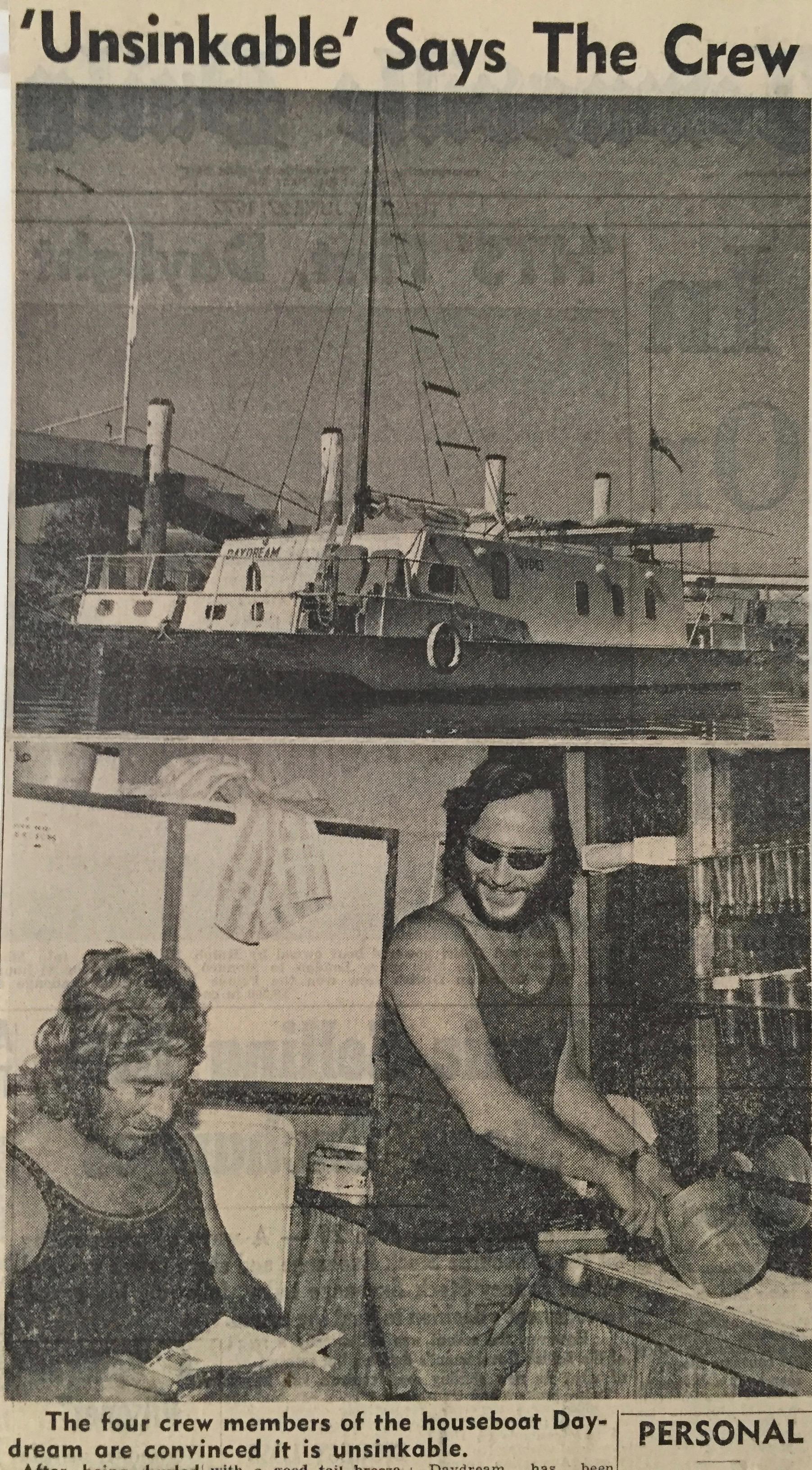 Offshore sailing Australian podcast stories