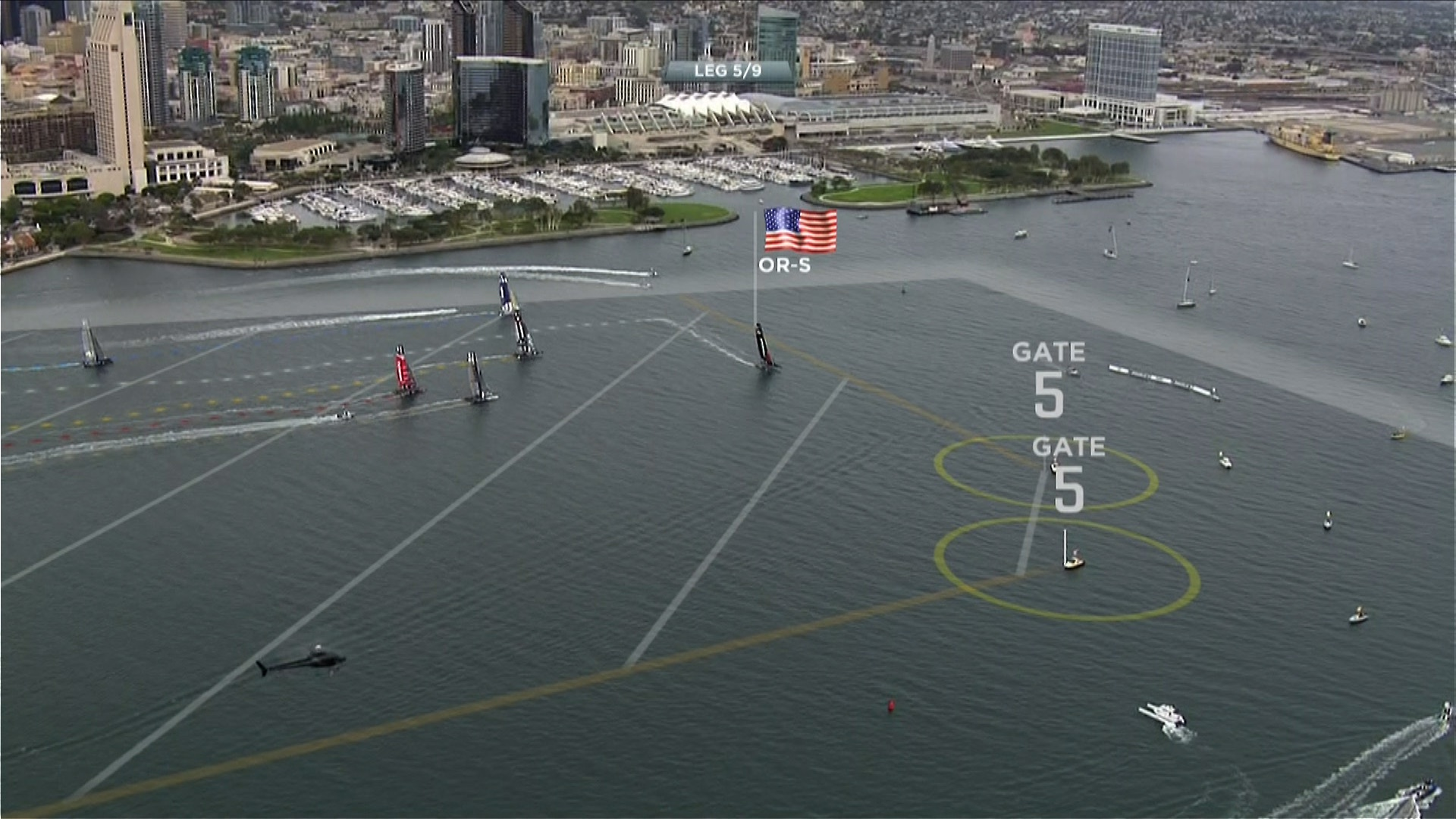 High tech graphics have dramatically changed yacht racing coverage for spectators