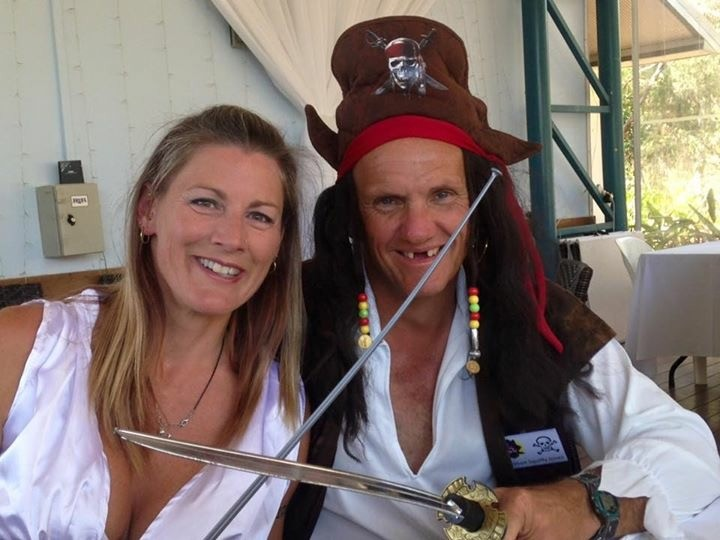 The members get into party mode at the Shag Islet Cruising Yacht Club Rendezvous