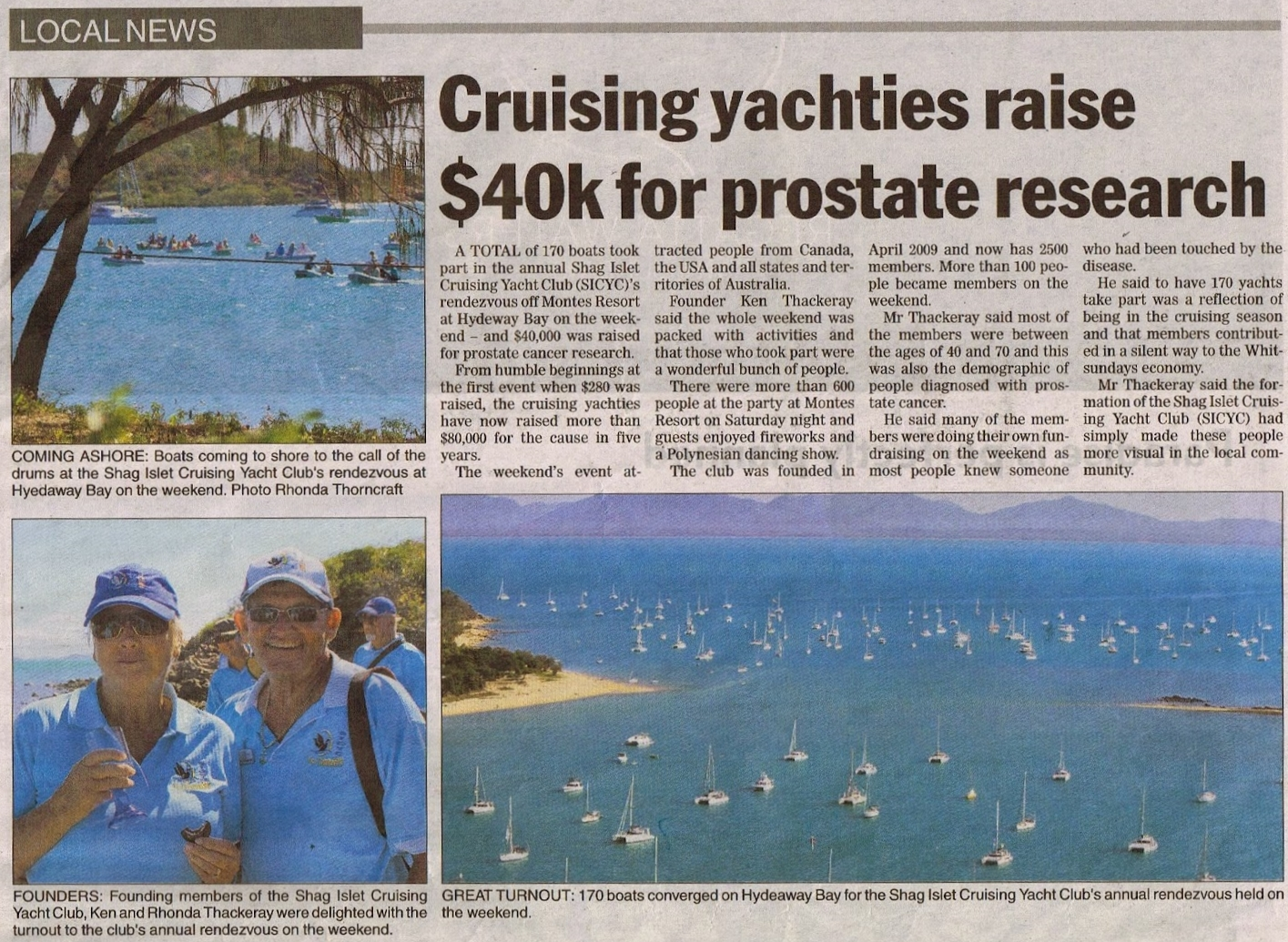 Prostrate cancer fundraising