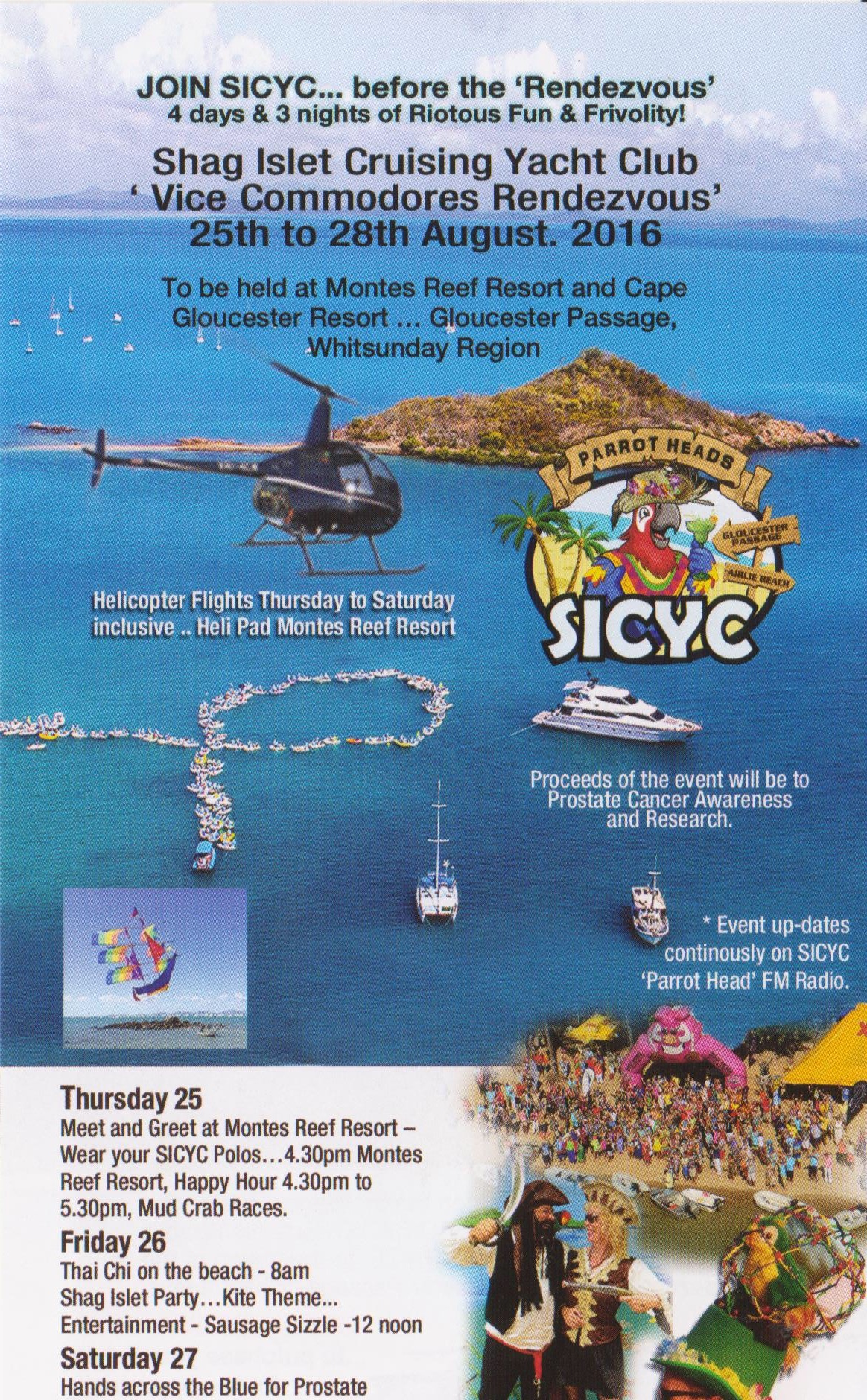 SICYC Vice Commodores Rendezvous 2016