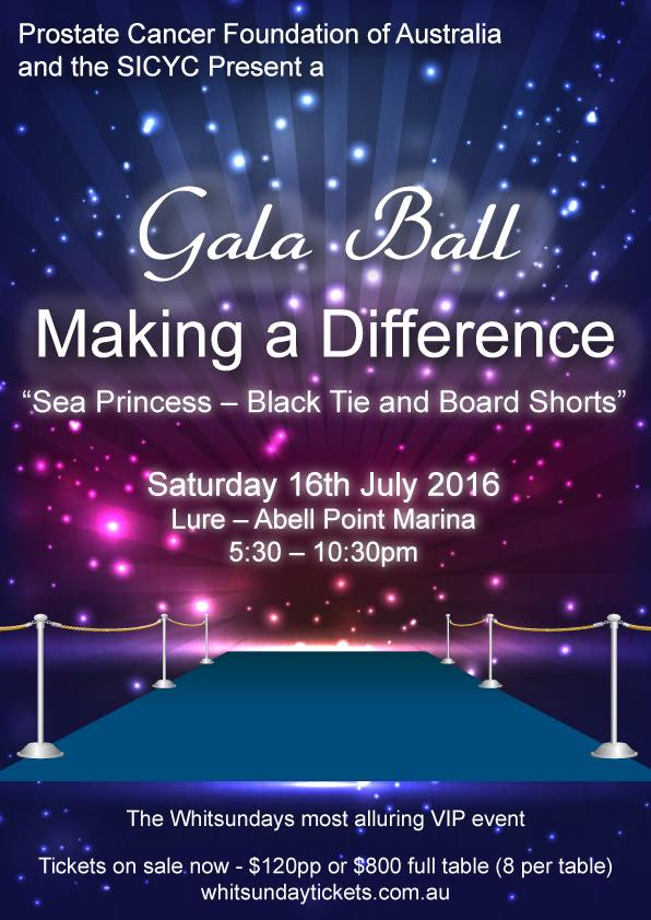 Prostrate Cancer Foundation of Australia Gala Ball