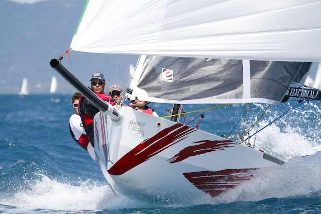Graham Sherring, partner at Evolution Sails is also the 2016 Australian Sports Boat Champion