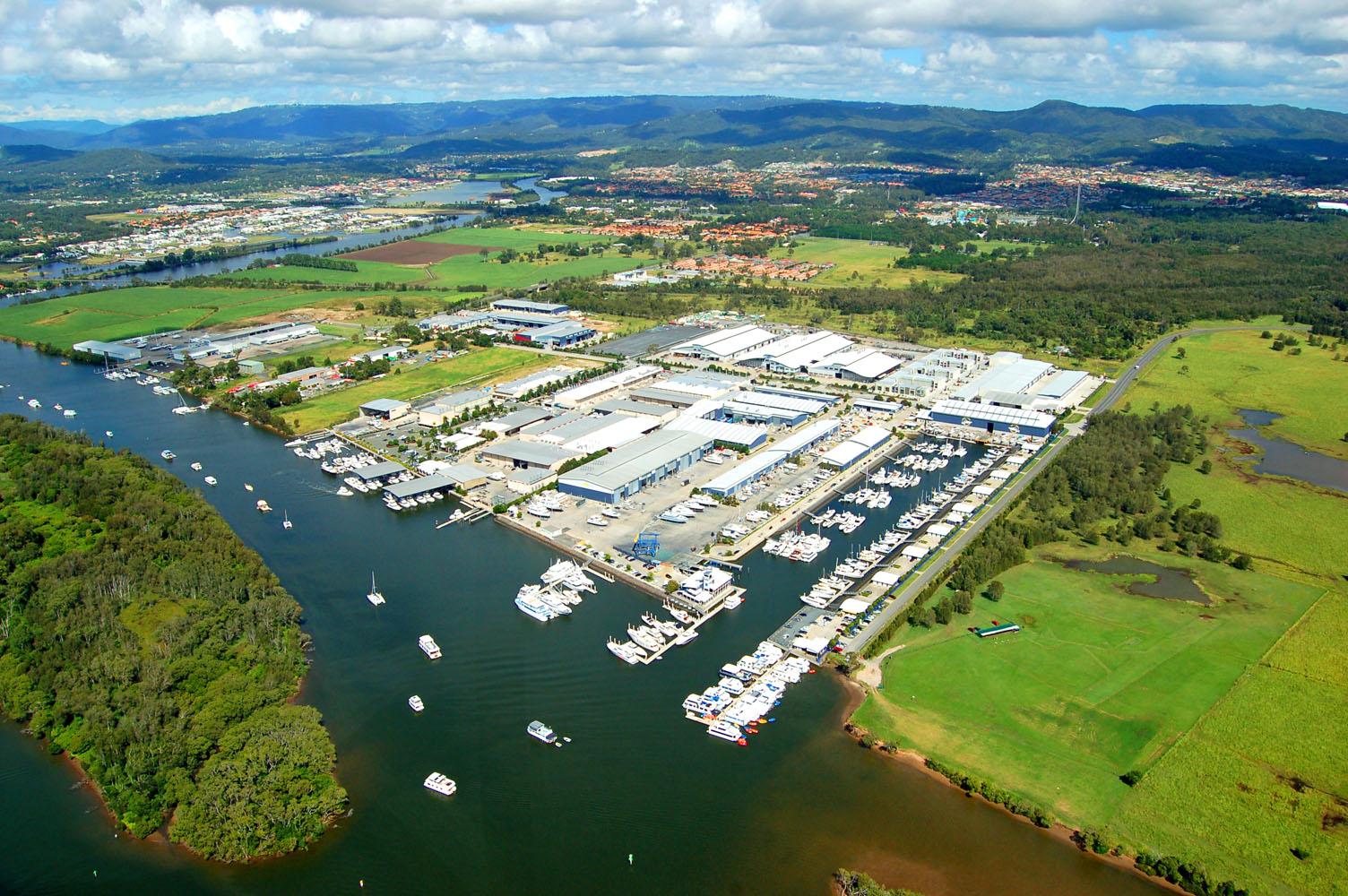 Gold Coast City Marina on prime land in the Coomera marine precinct