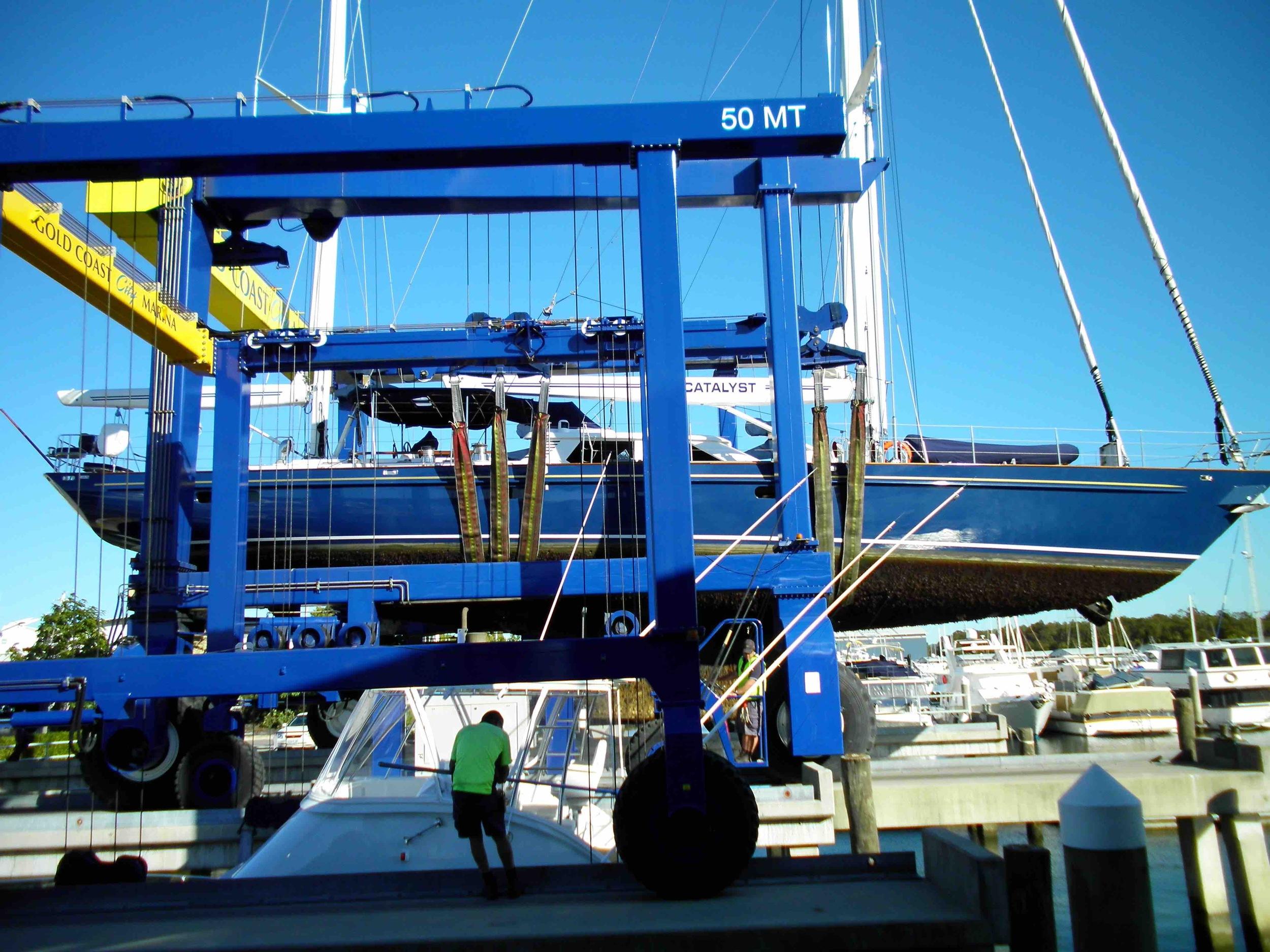 Catalyst yacht Gold Coast City Marina