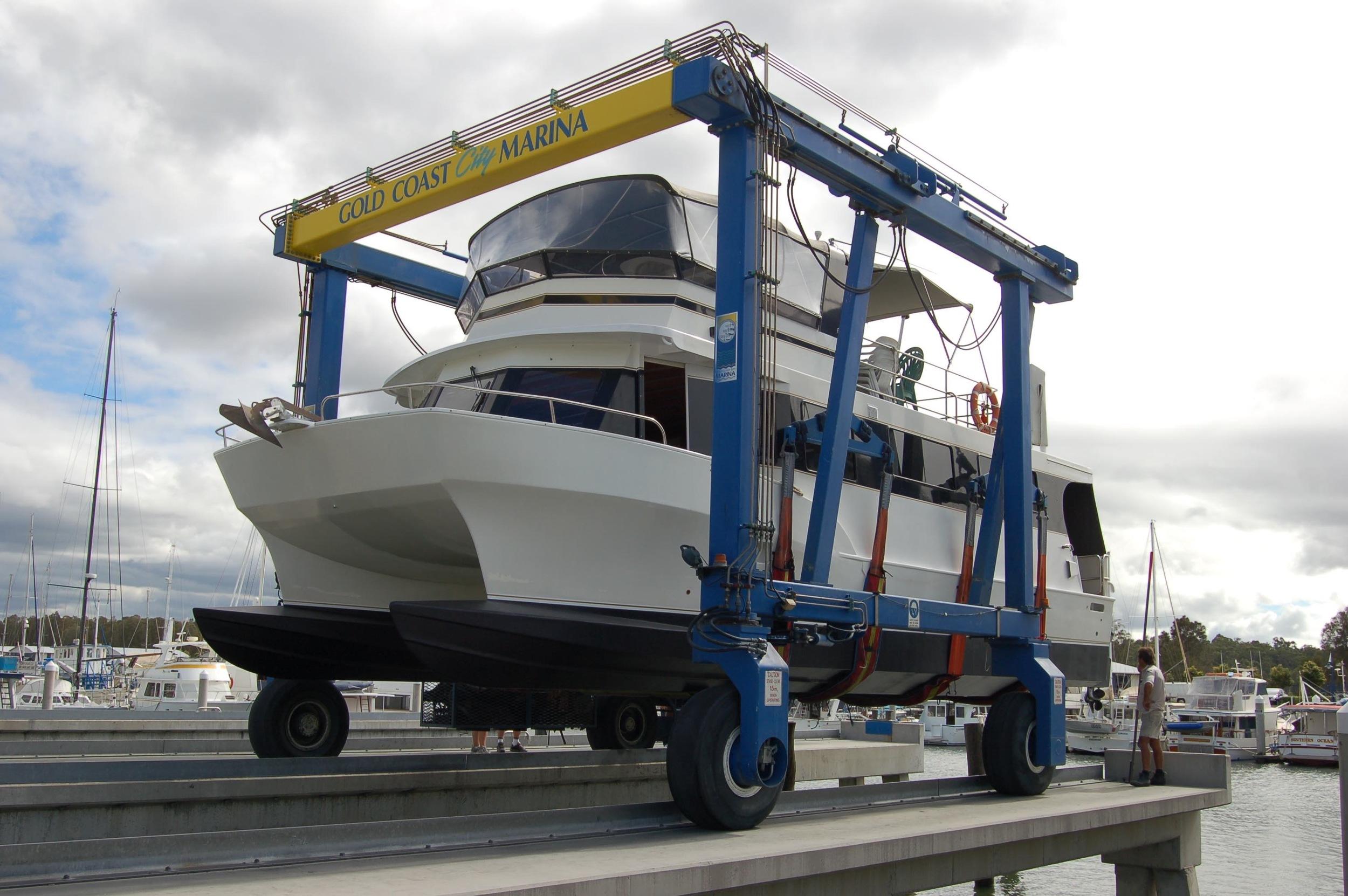 Gold Coast City Marina Travel Lift 250 Tons