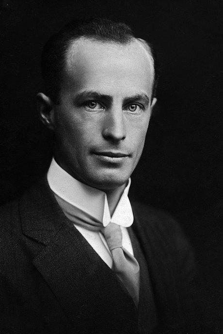 Australian geologist and Antarctic explorer Douglas Mawson (1882 – 1958) Photo: Getty