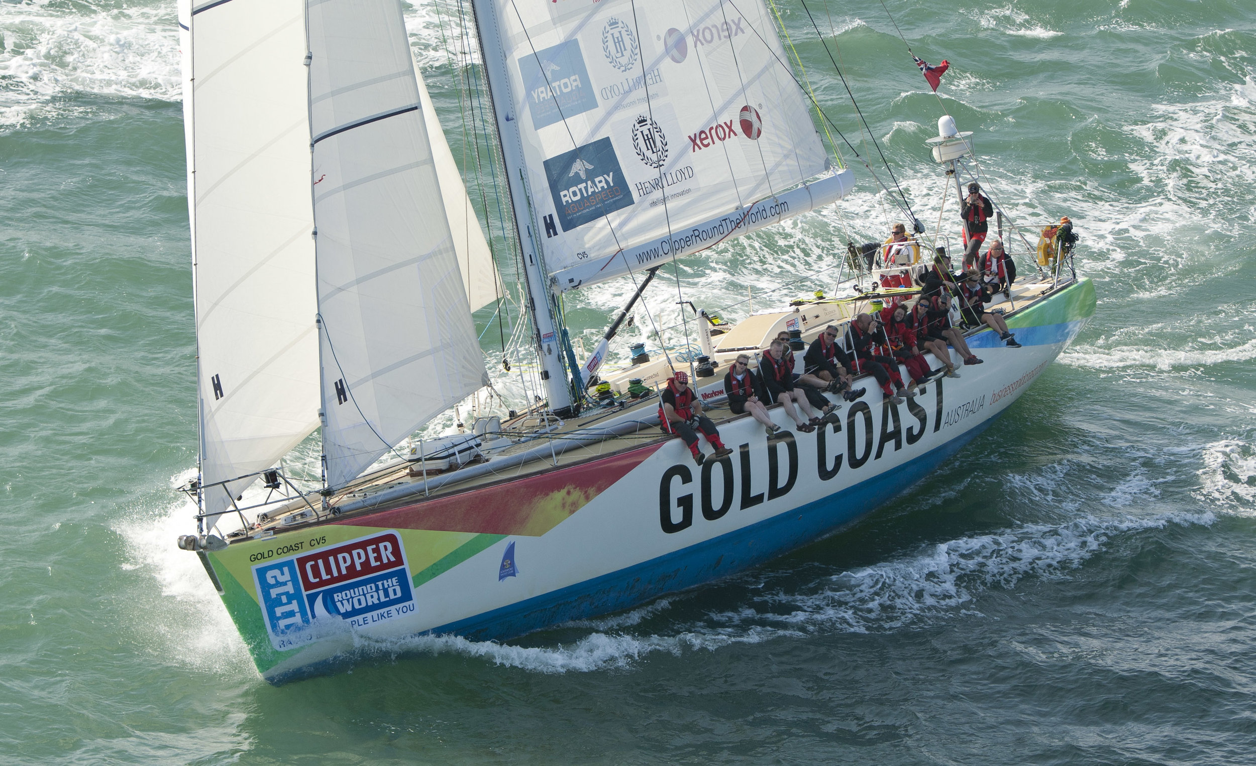 Clipper Race Winner Gold Coast