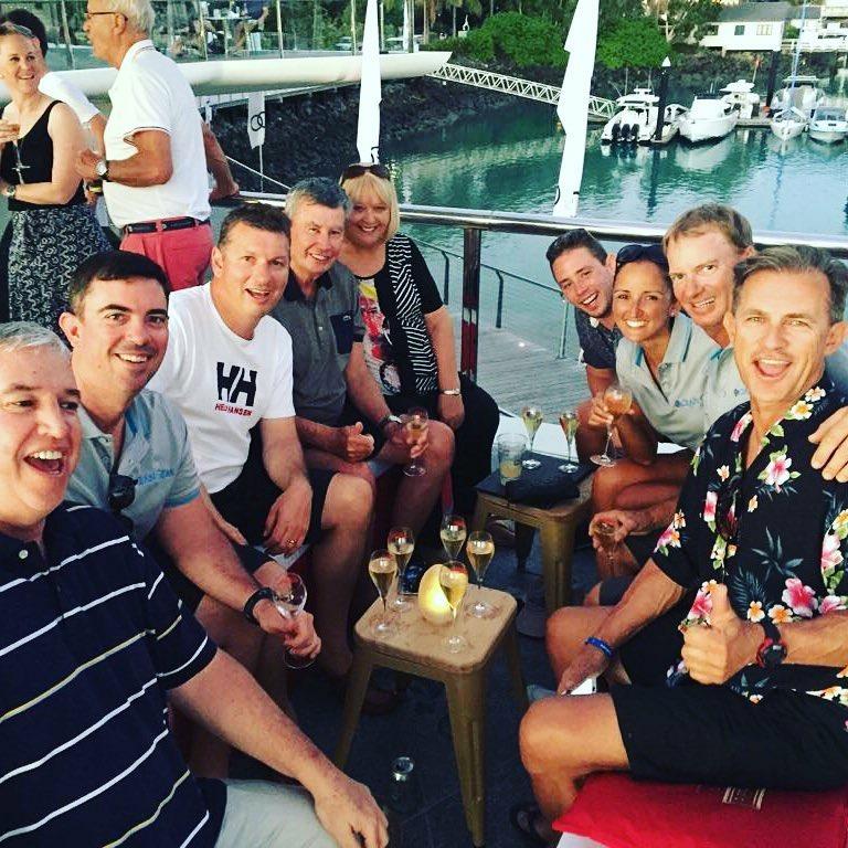 Hamilton Island Yacht Club Champagne Ocean Gem Crew