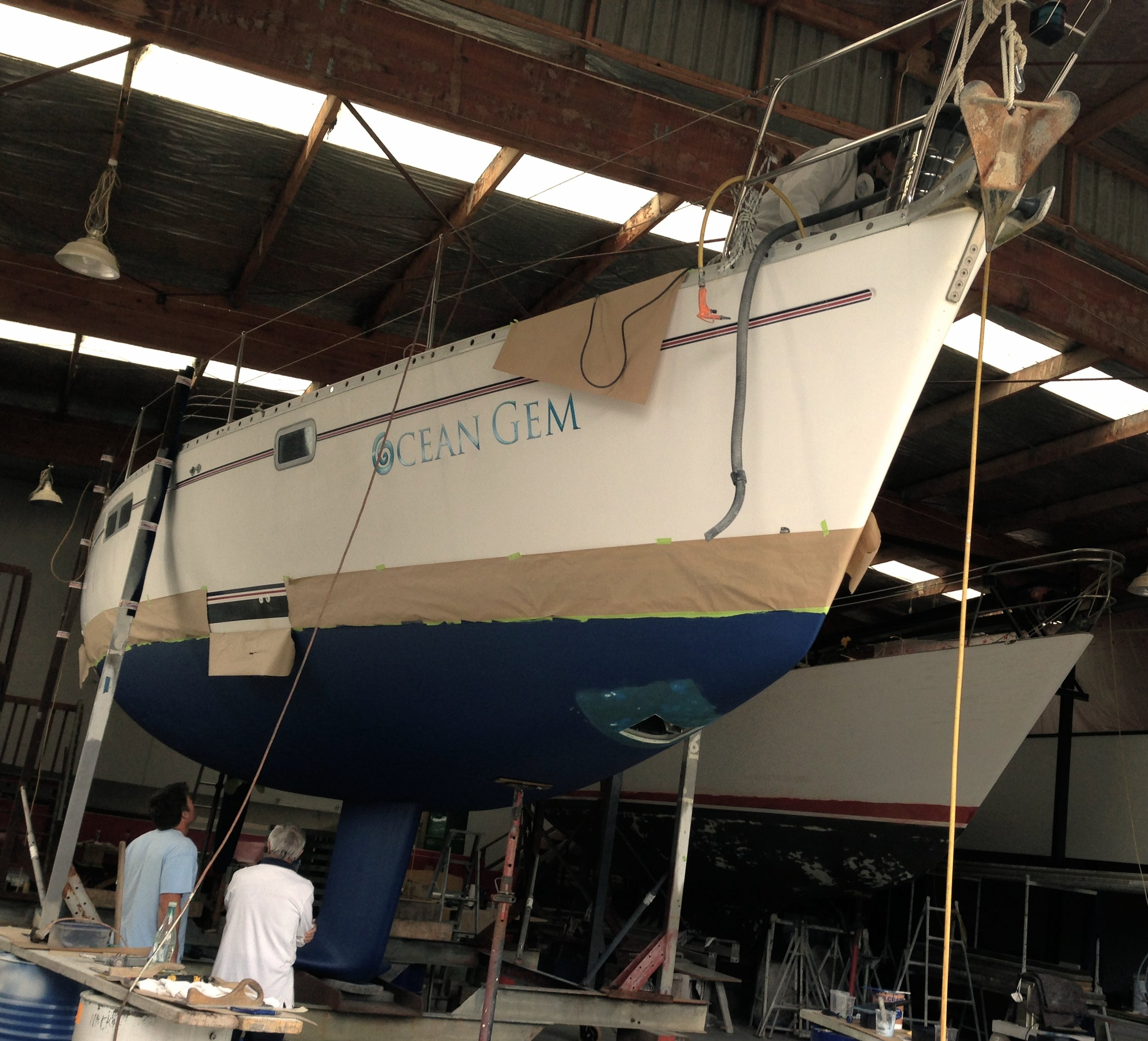 Ocean Gem refit & upgrade 2013 -