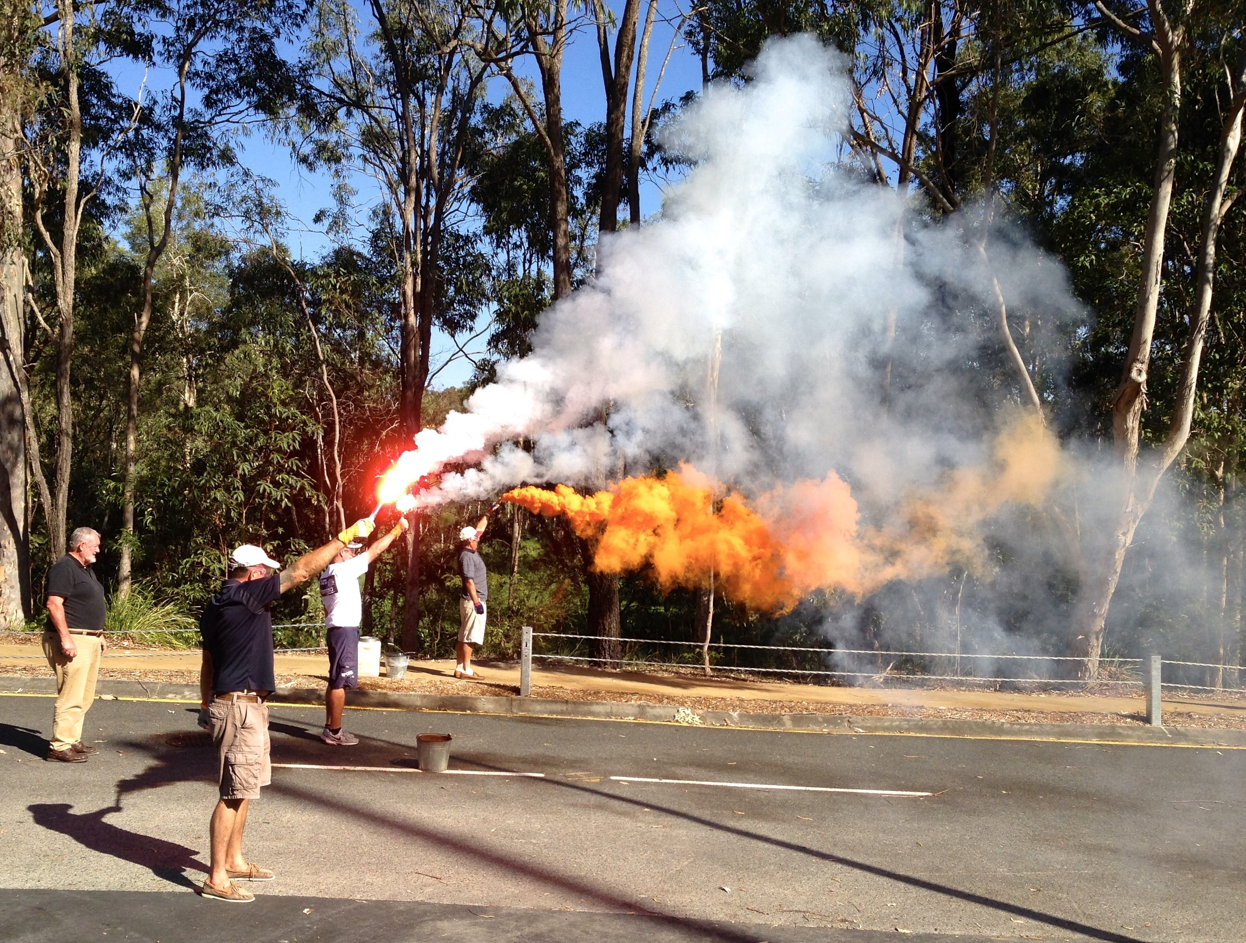 Safety flare training