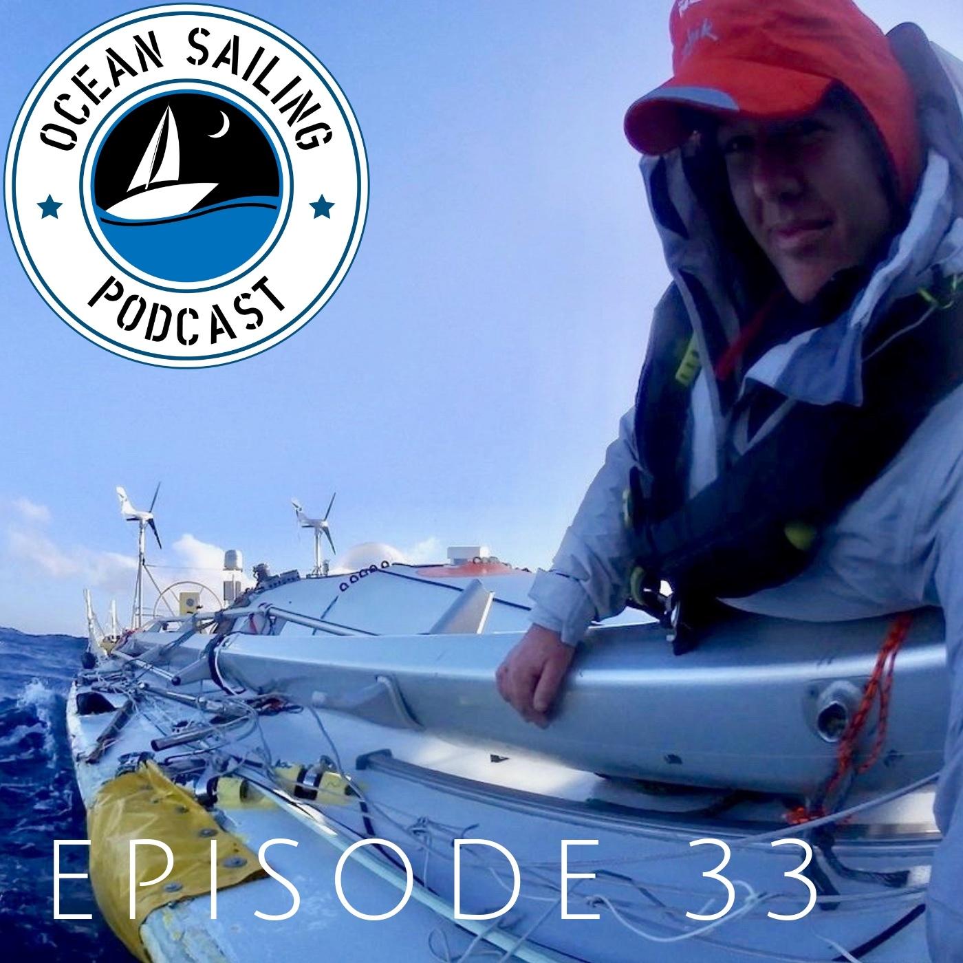 Lisa Blair dismasted Antarctica circumnavigation