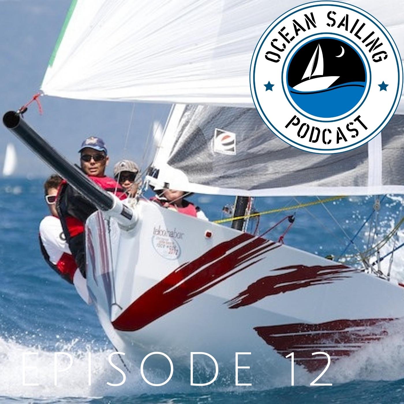 Evolution sails Rob White Graham Sherring