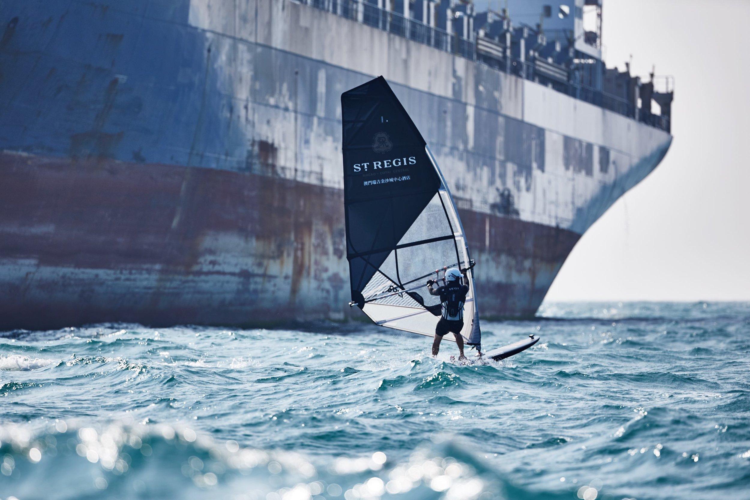 Nick Moloney Wind Surfing