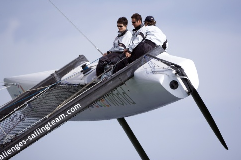 Nick Moloney BT Sailing Team Catamaran