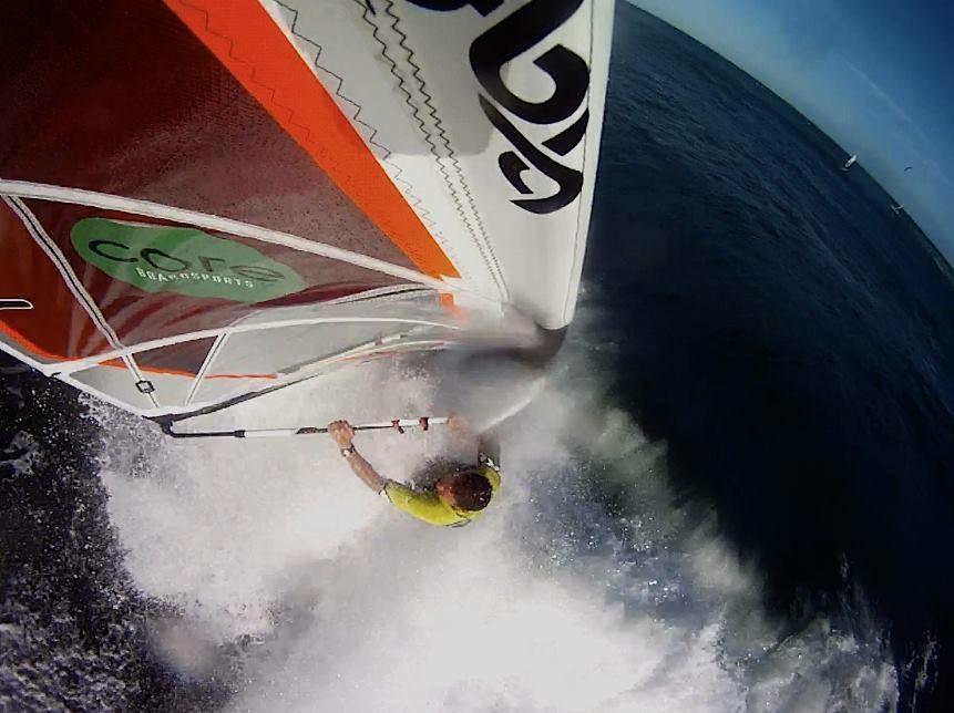 Nick Moloney Windsurfing Bass Strait