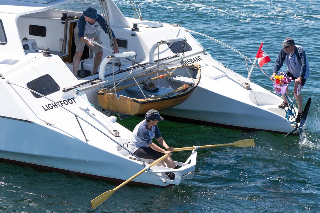 Row, paddle. sail in R2AK Race to Alaska