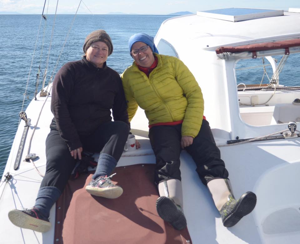 R2AK sailing the Canadian coast