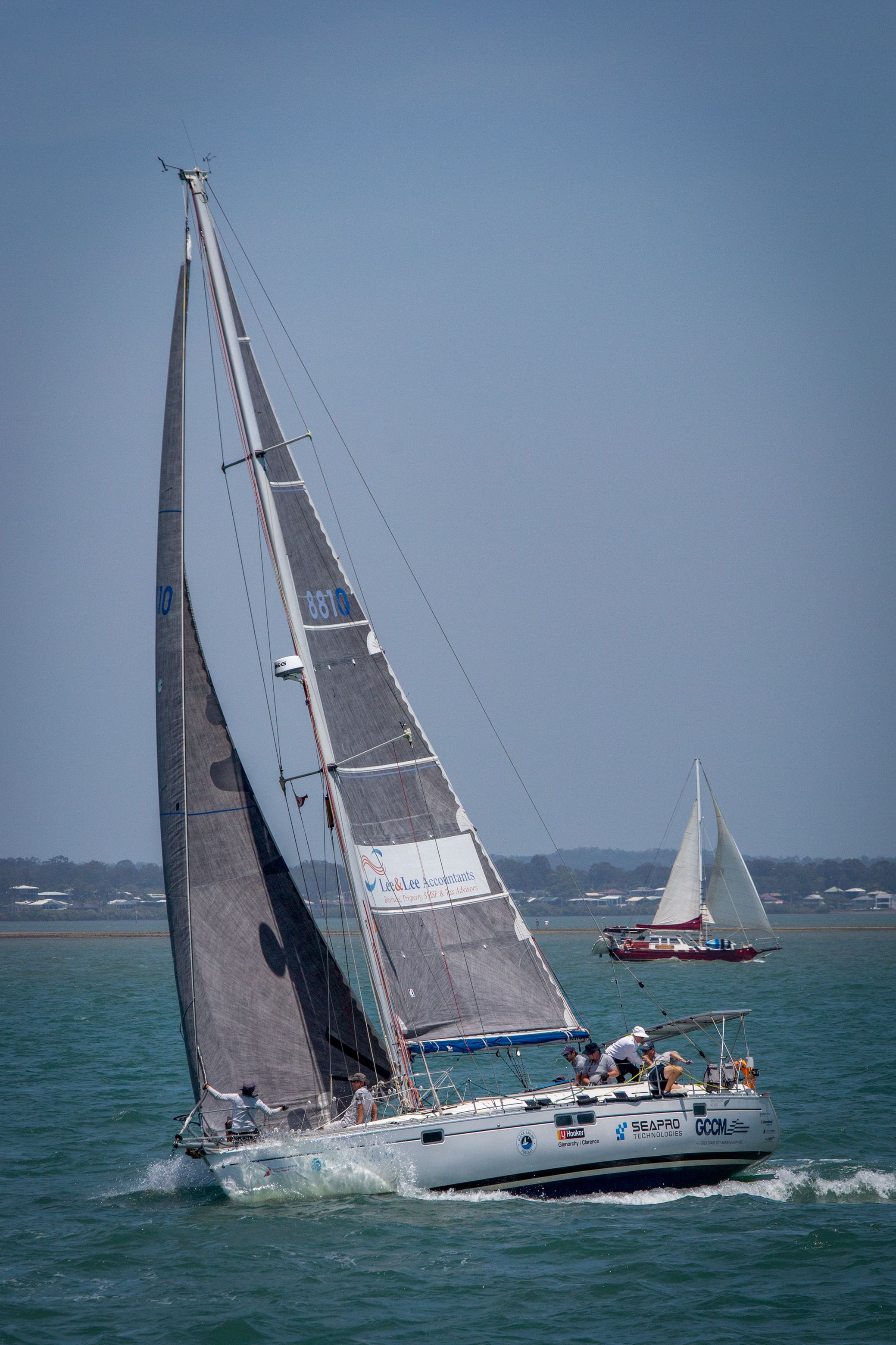 High performance carbon sails make Ocean Gem competitive in all weather conditions