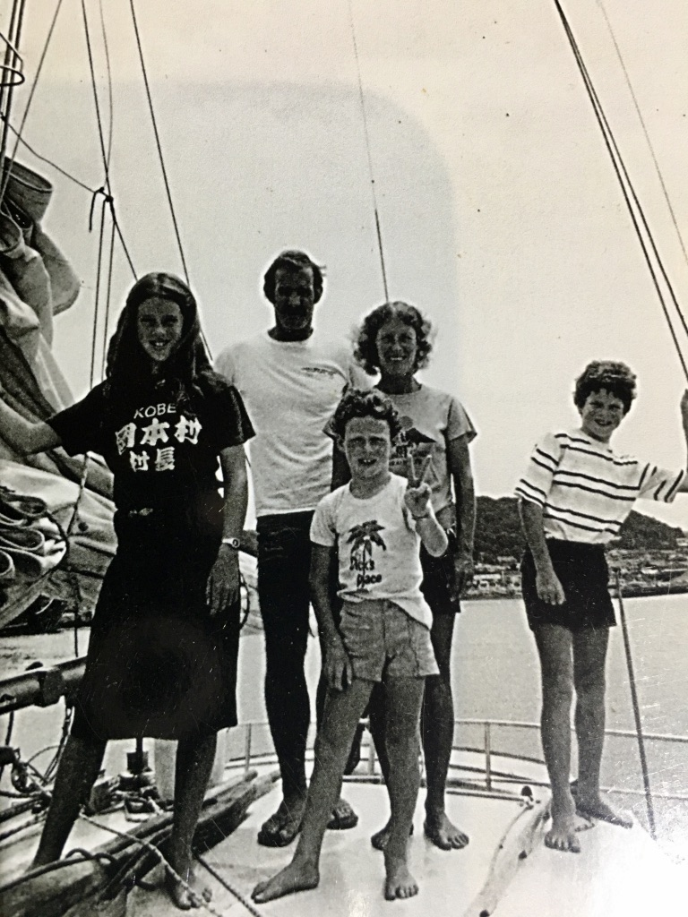 Dennis Webster Catamaran Pacific Guam