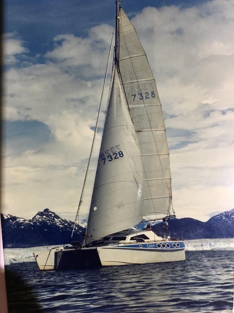 Dennis Webster Catalyst Catamaran
