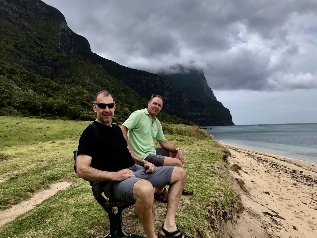 Walking track on Lord Howe Island