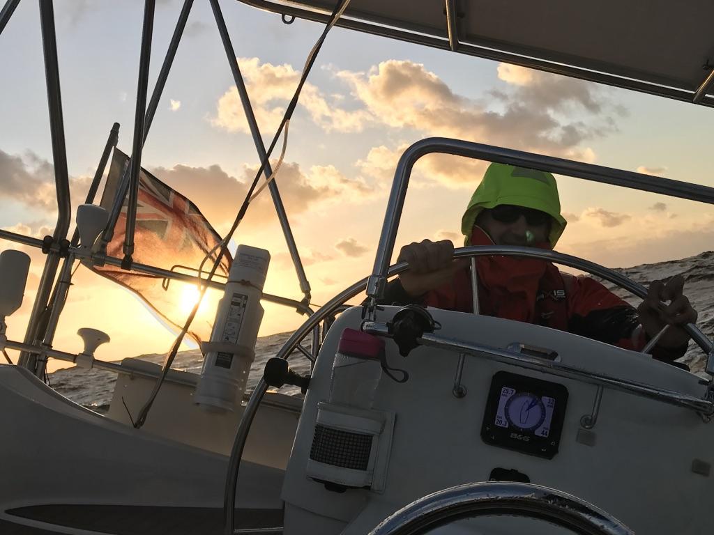 Sailing to Middleton Reef