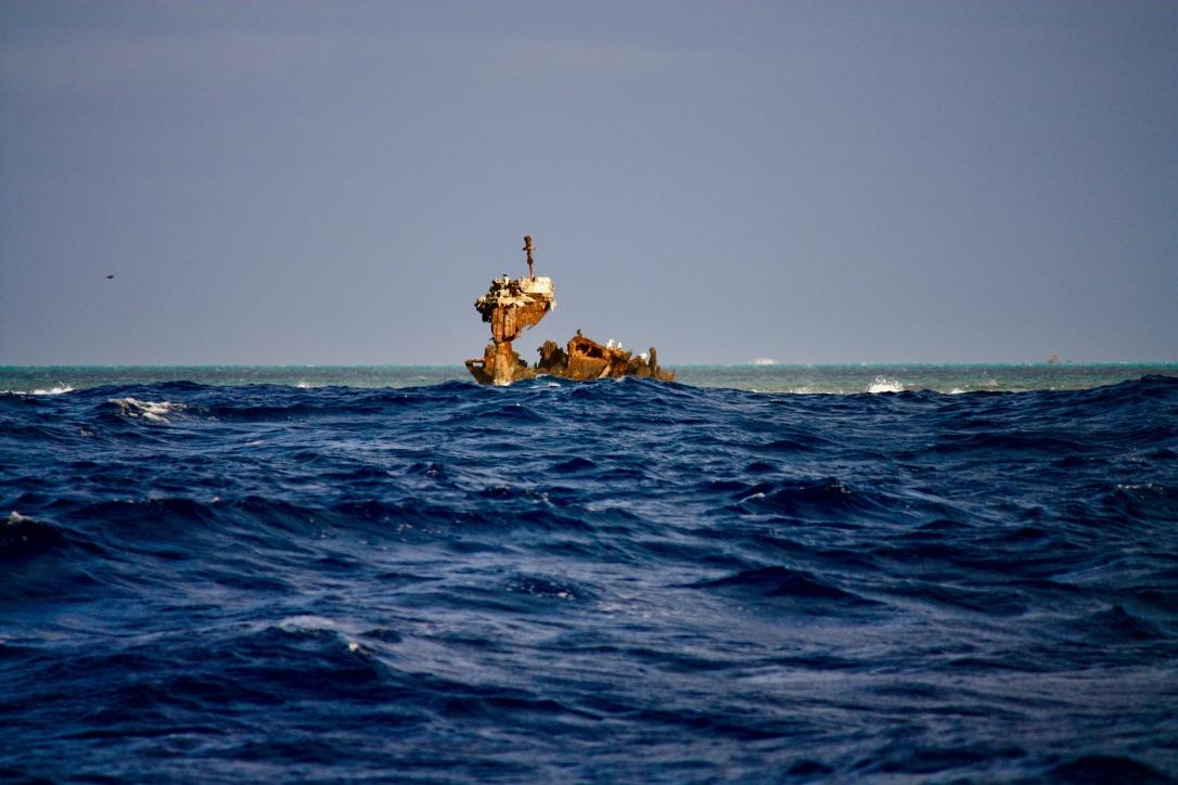 Middleton Reef wreck