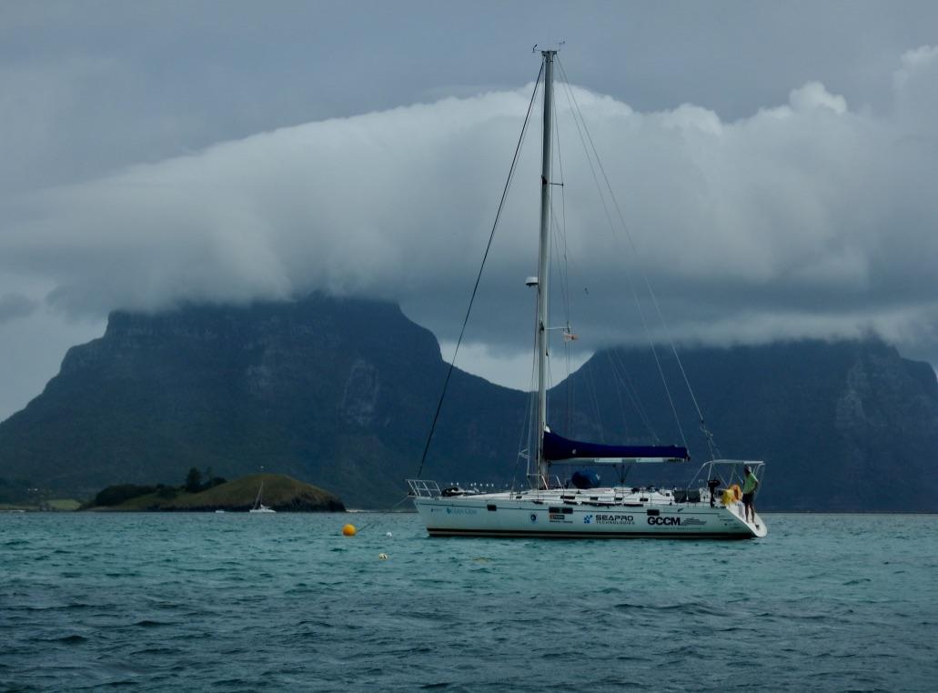 Mooring at Lord Howe Island