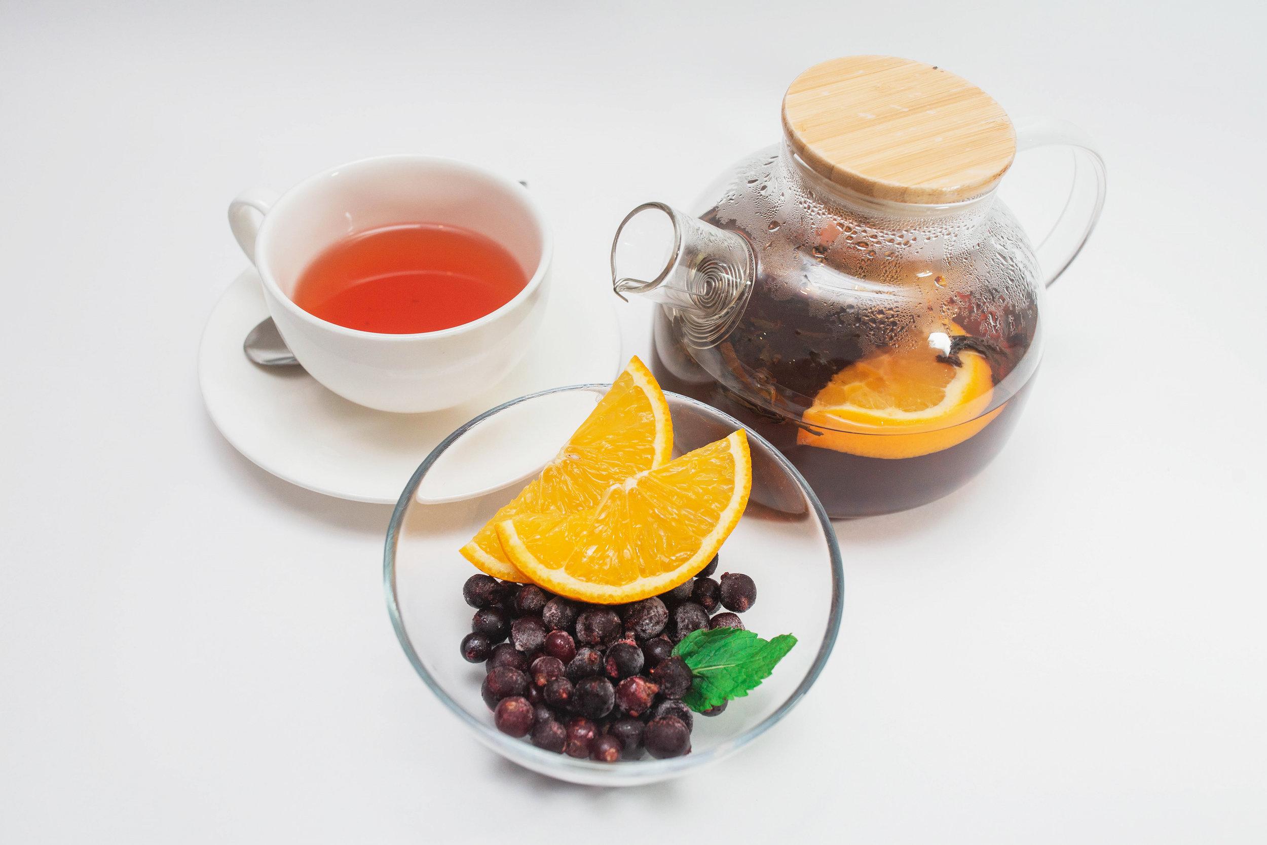 Blackberry Tea - 190 kgs