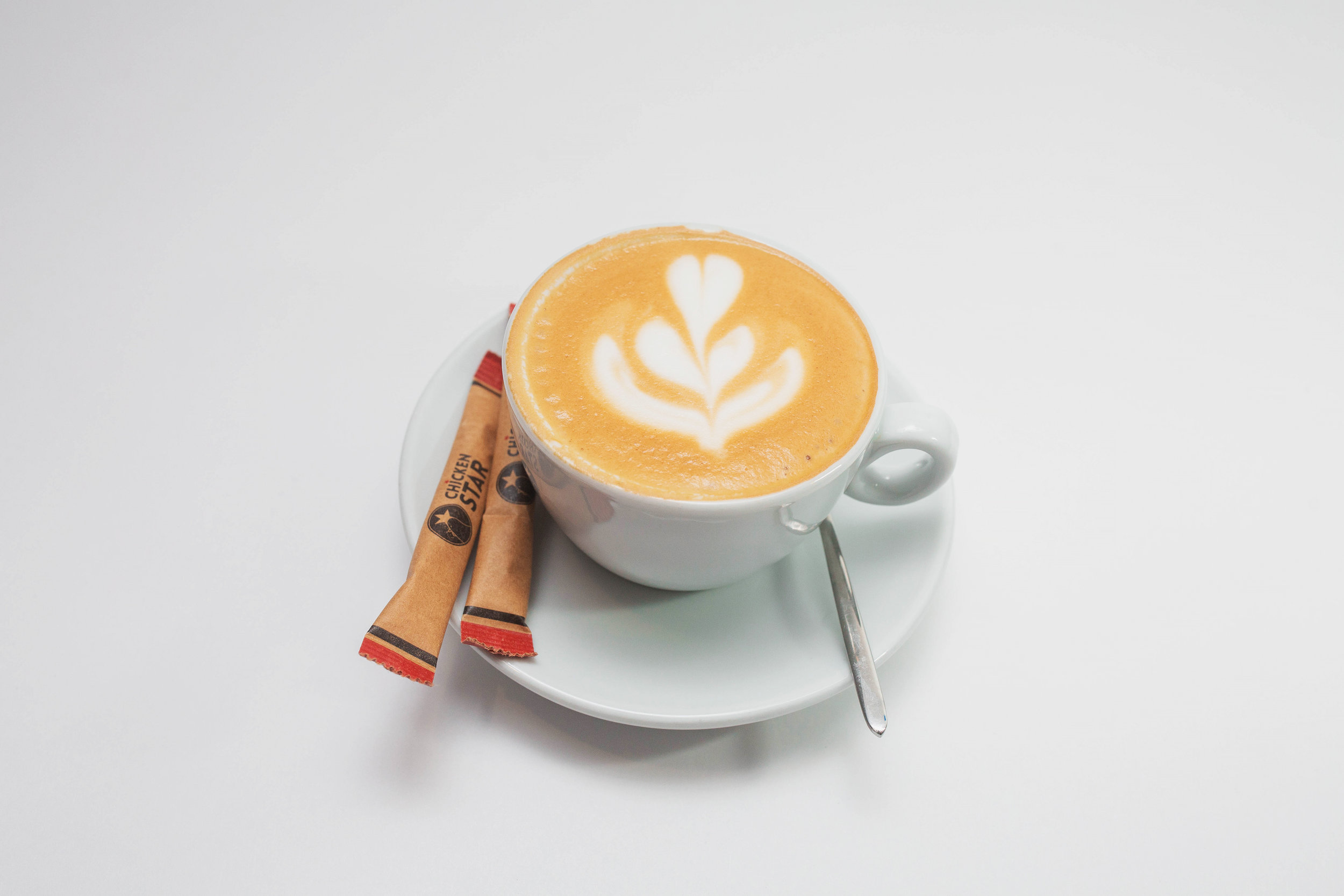 Cappuccino - Hot / Iced160 kgs / 190 kgs