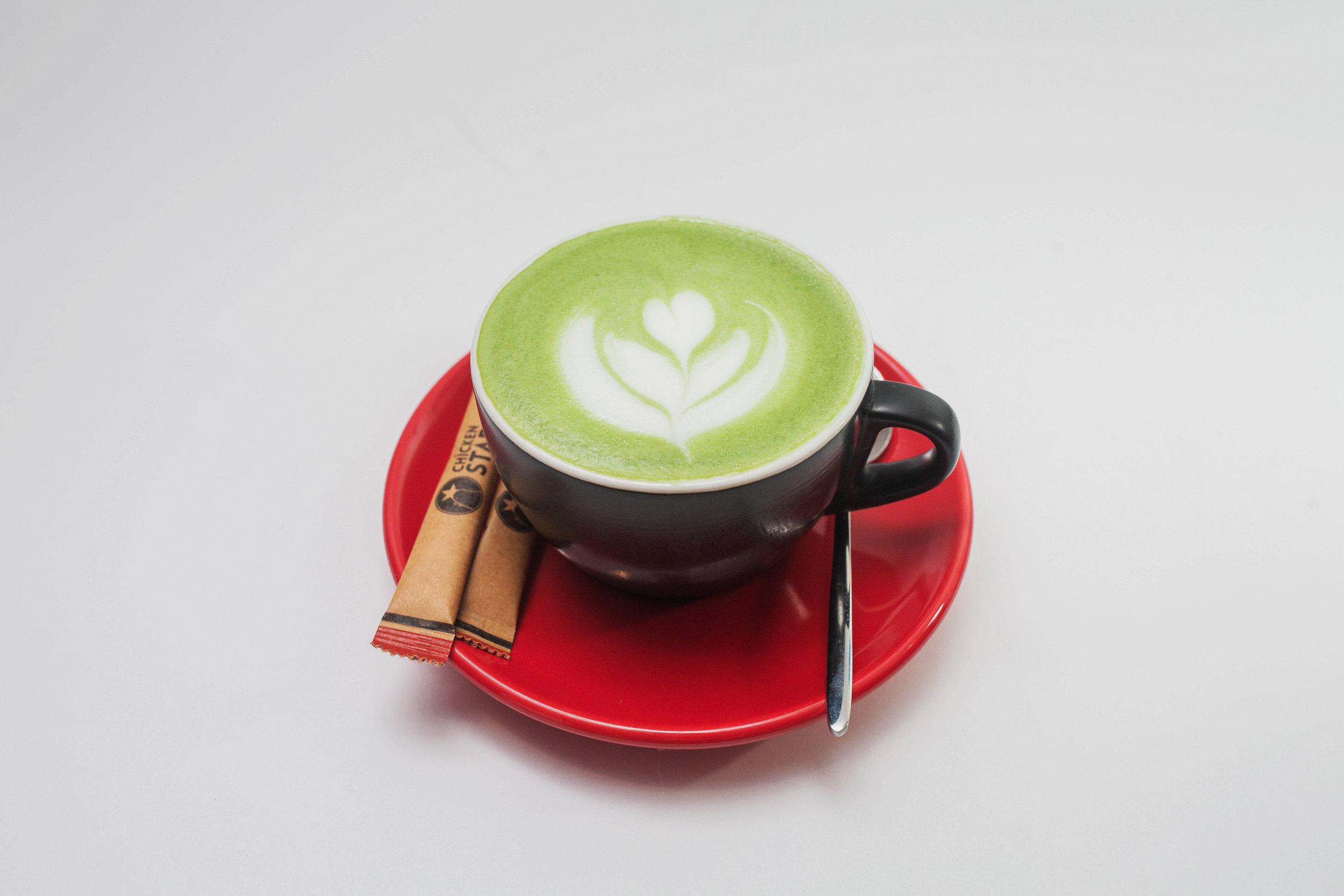 Matcha Latte or Green Tea Latte - 190 kgs