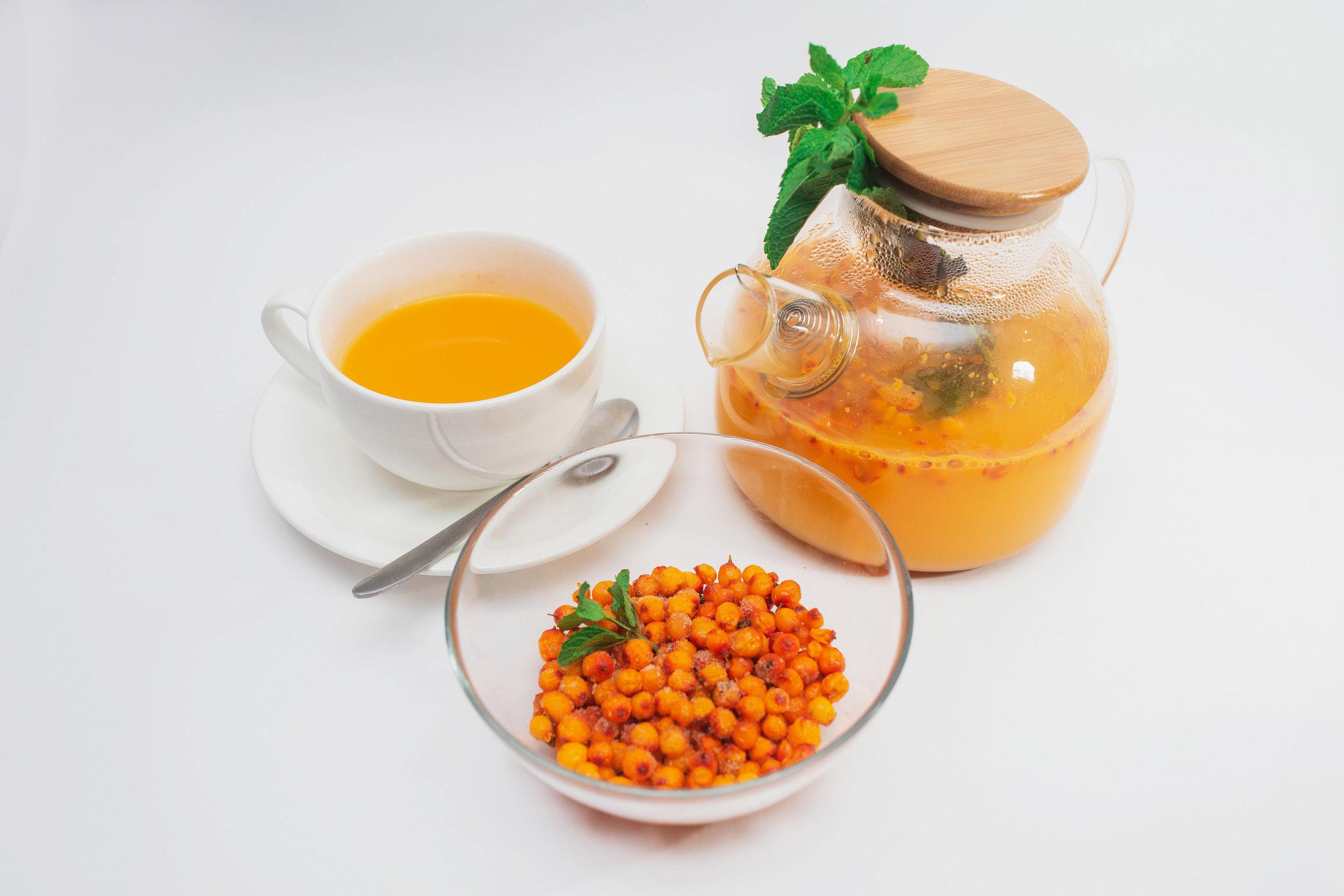 Облепиховый Чай - 190 сом